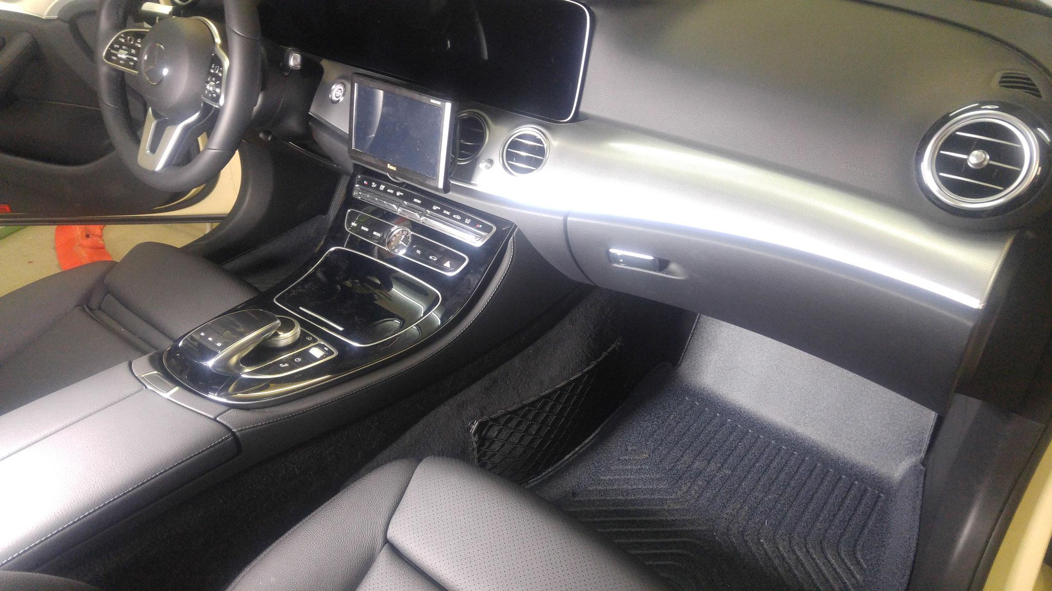 Mittelkonsole Mercedes W213 vorher