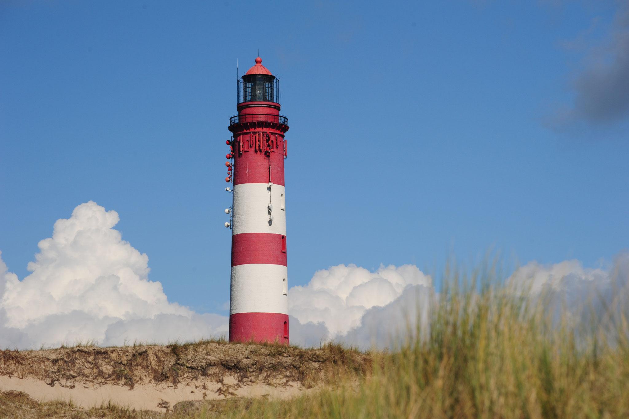 Ein Wahrzeichen der Insel: Der Leuchtturm