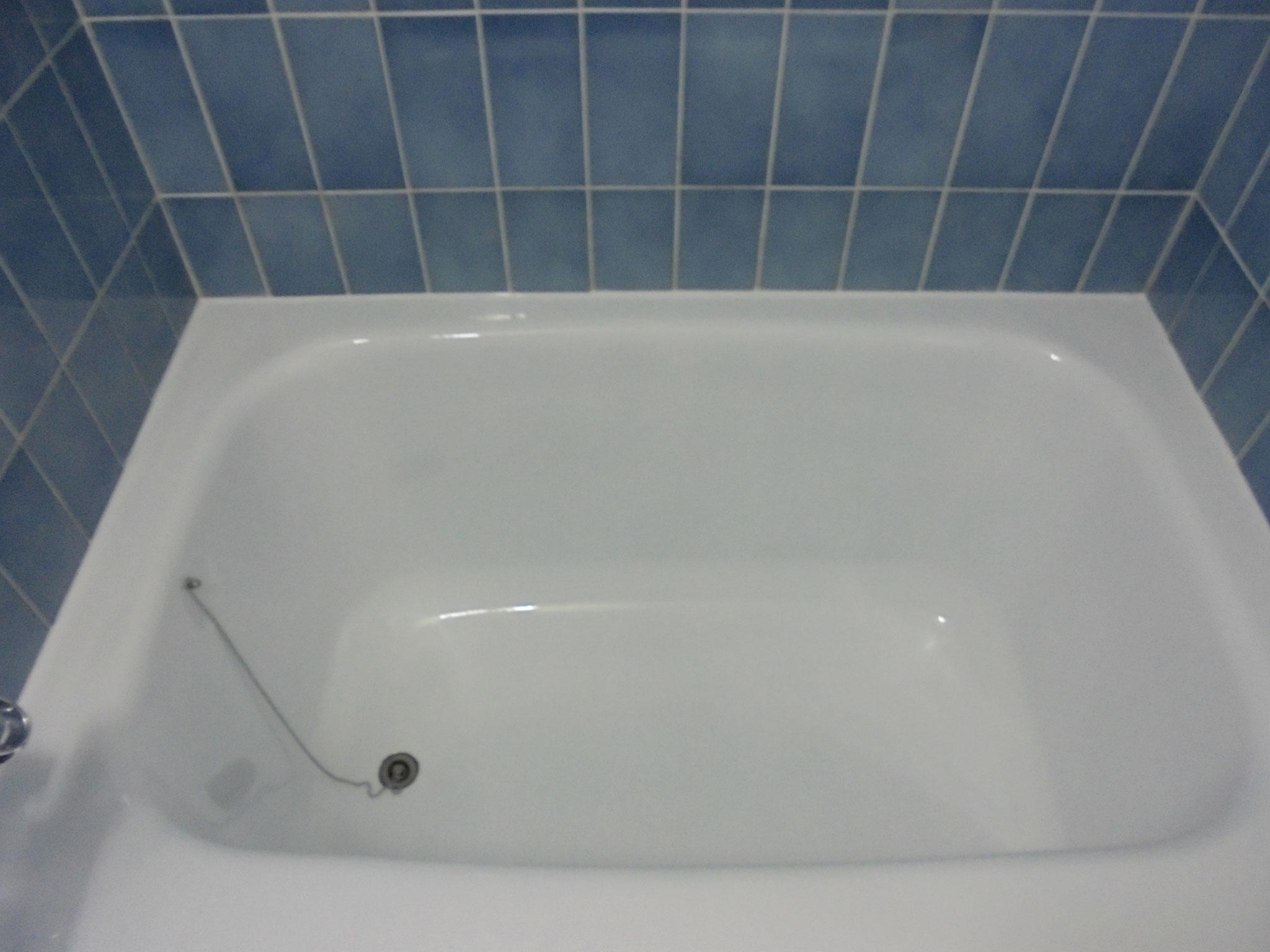 浴槽塗替え後