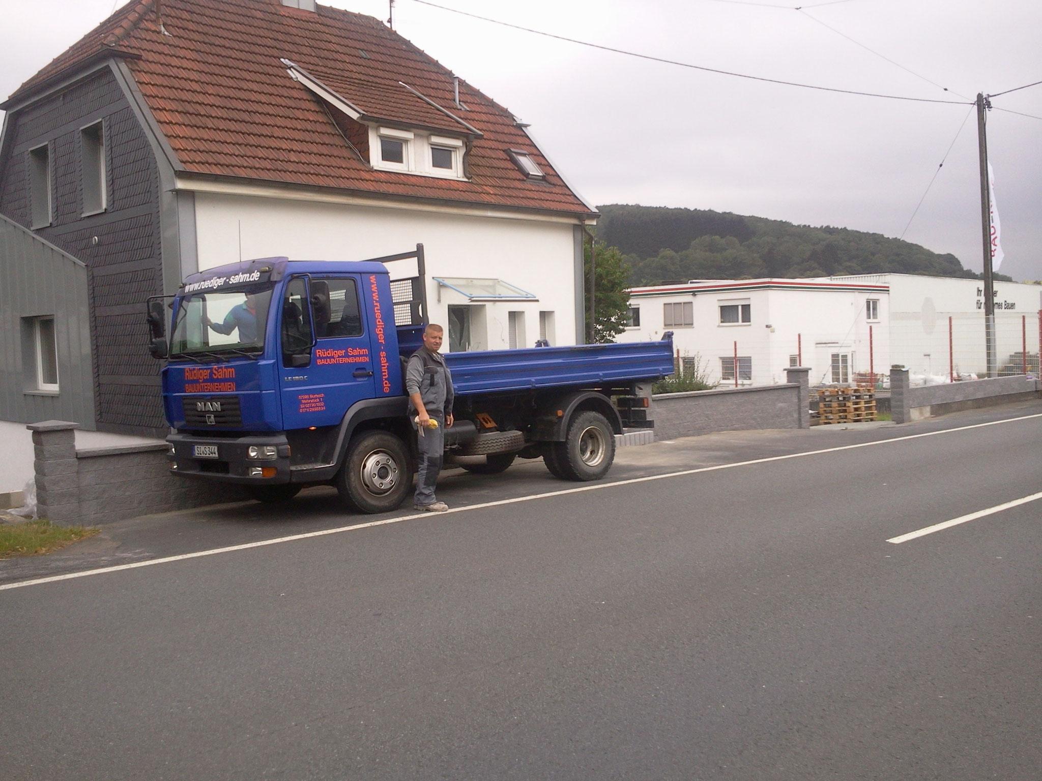 Grundst ckmauern in burbach siegen haiger dillenburg erfahrener meisterbetrieb - Fliesen dillenburg ...