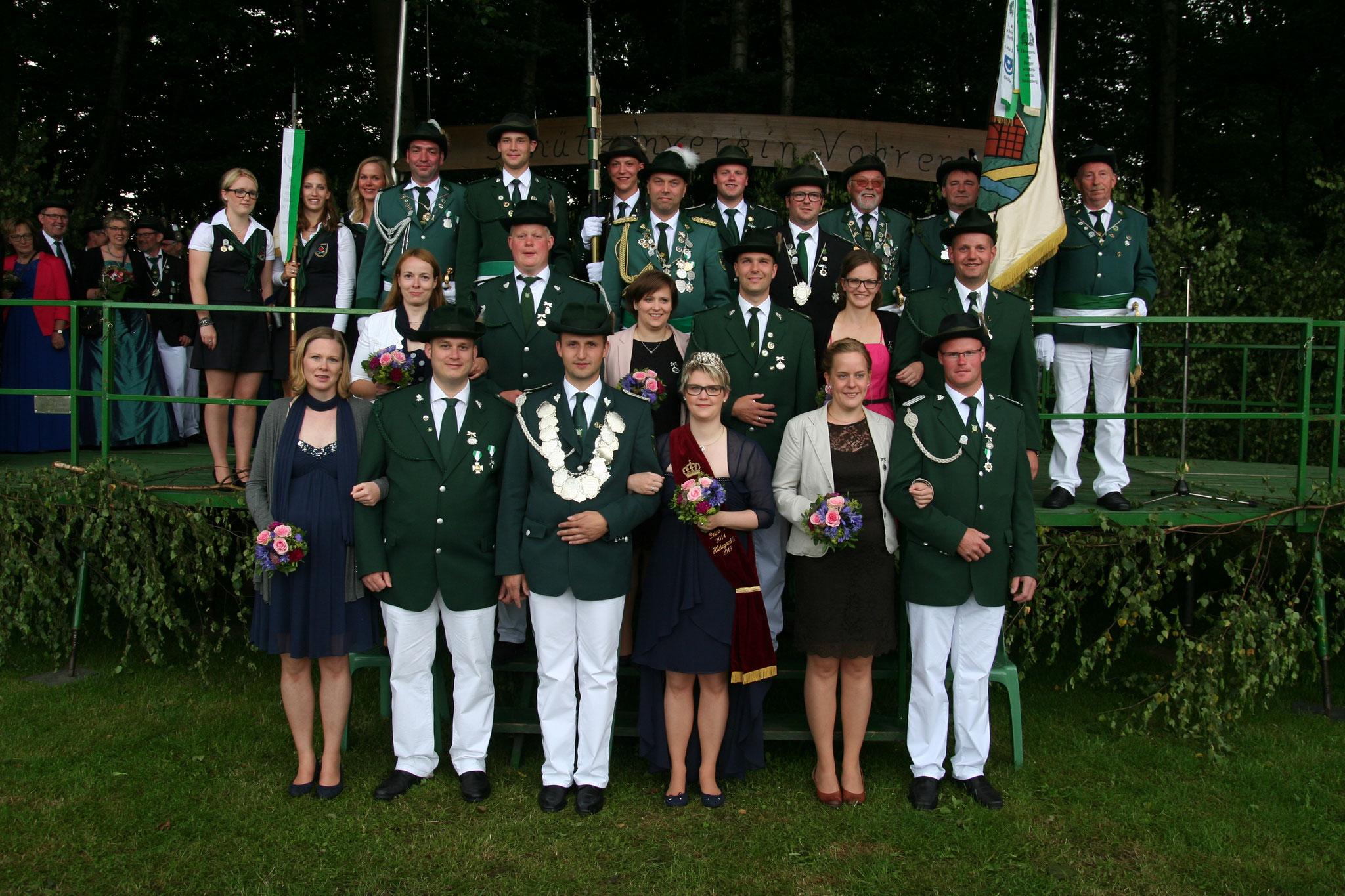 2016: König Benedikt Aschhoff und Königin Eva Aschhoff