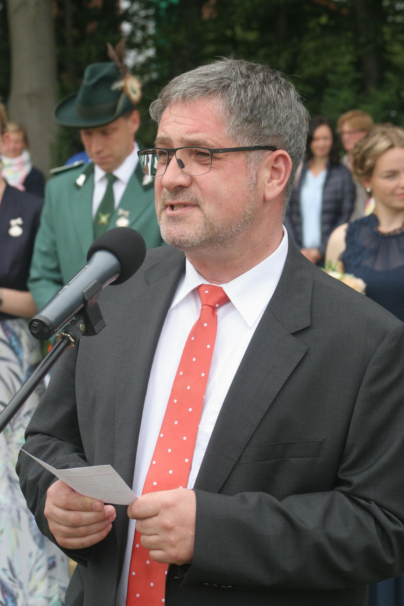 Ansprache des Bürgermeisters