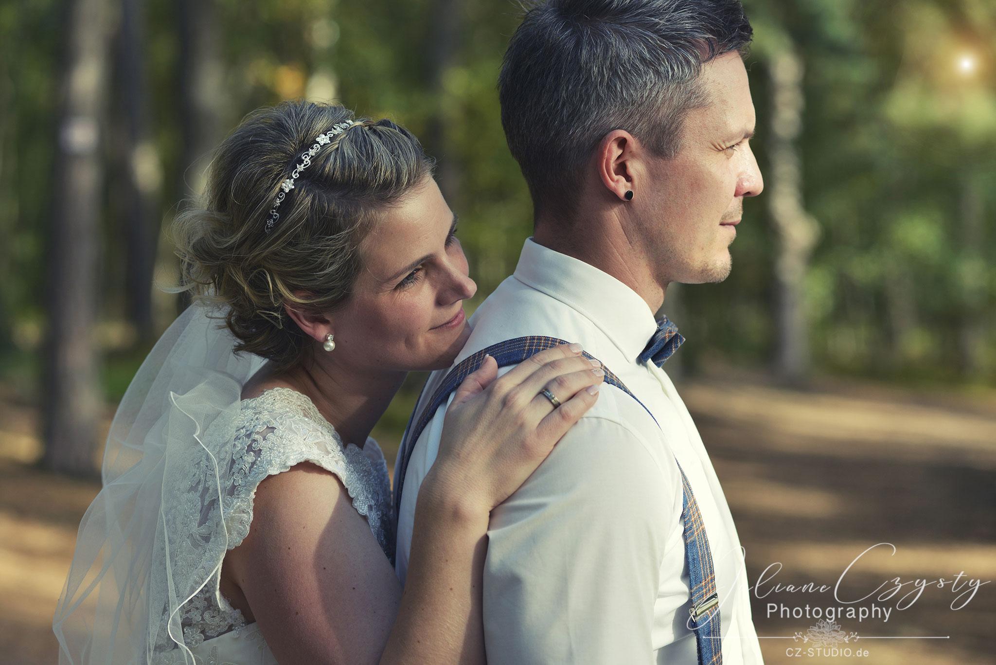 Emotionale Hochzeitsfotos  – Juliane Czysty, Fotografin in Visselhövede bei Rotenburg
