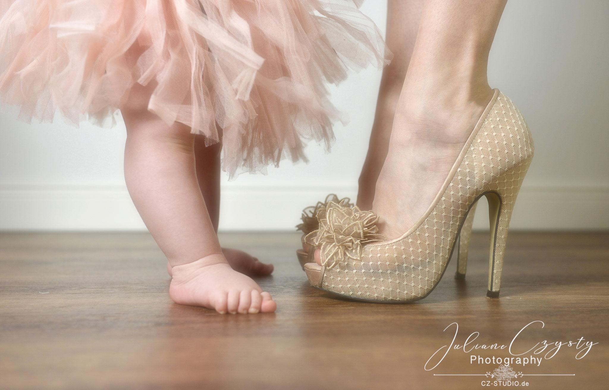 Baby Fotos als wunderschöne Erinnerung