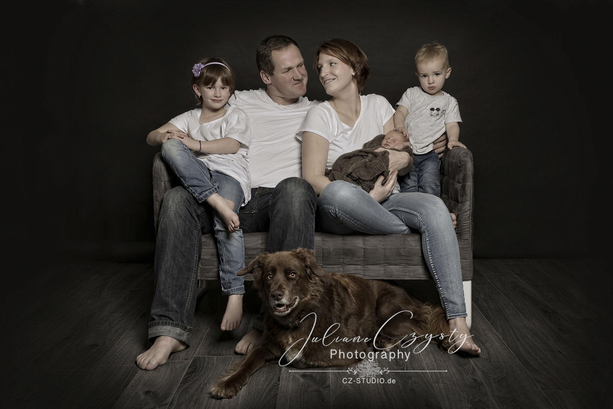 Moderne Familienfotos - Juliane Czysty, Fotostudio im Landkreis ROW