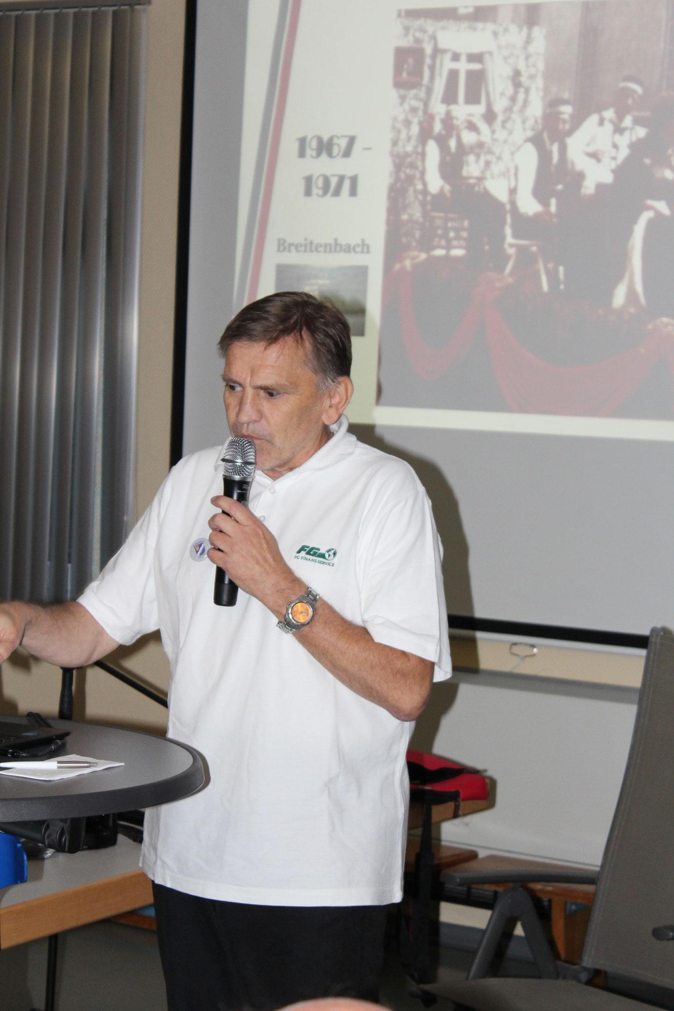 Bernd Leipold präsentiert 50-jährige Zeitreise