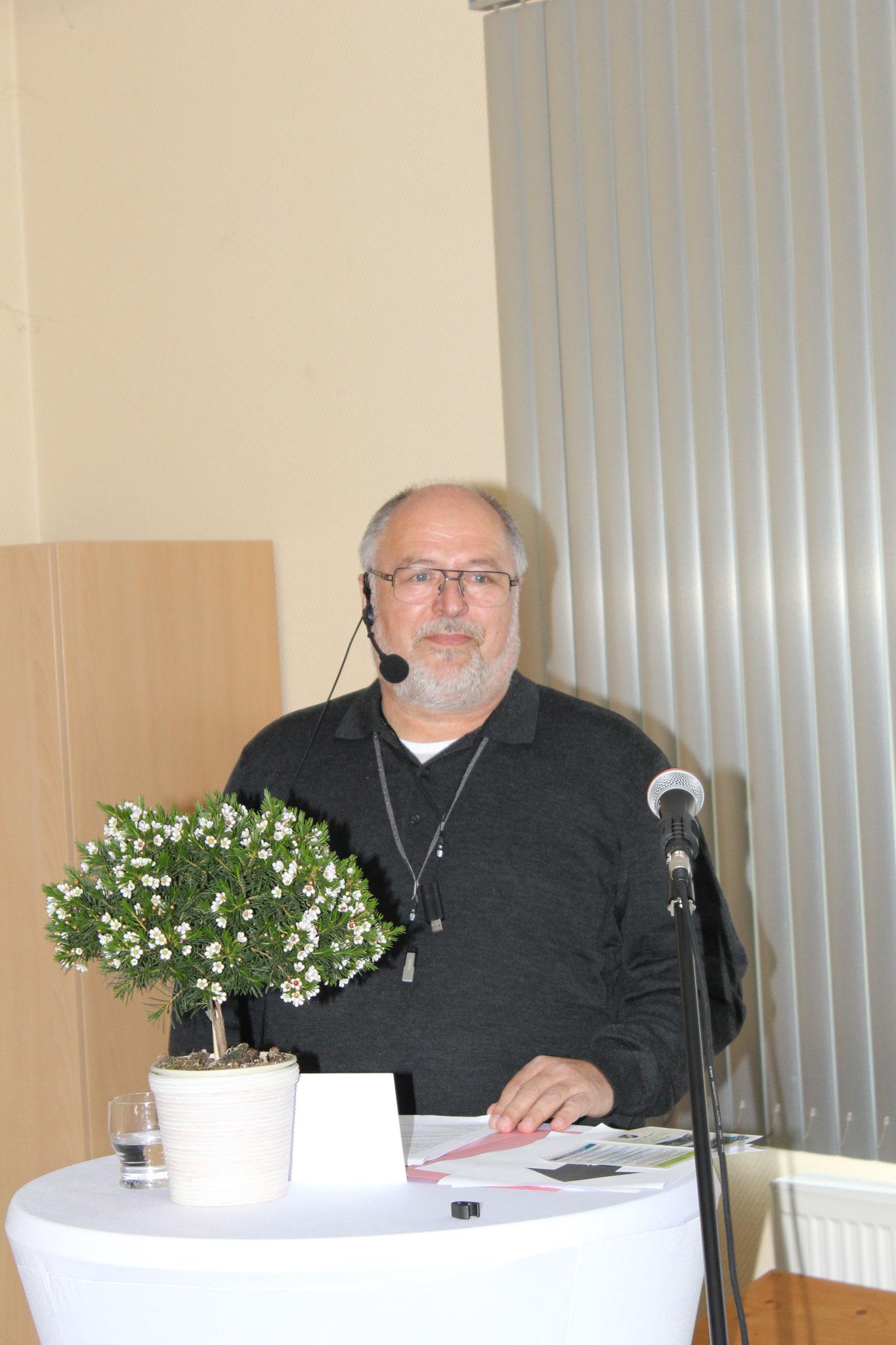 unser Ortsvorsteher Thomas Epperlein