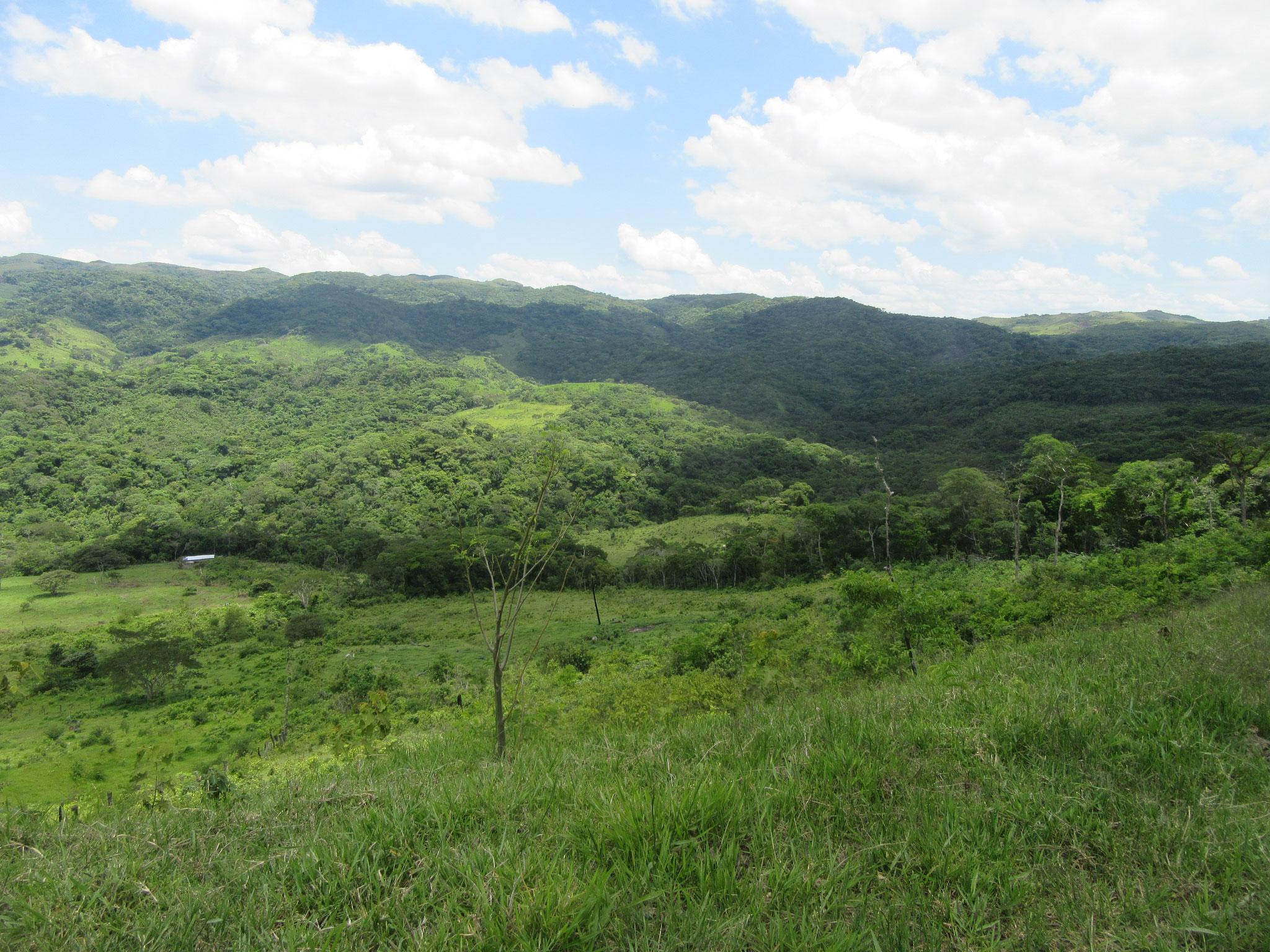 Einer der vielen Panoramablicke im Zufluchtsort