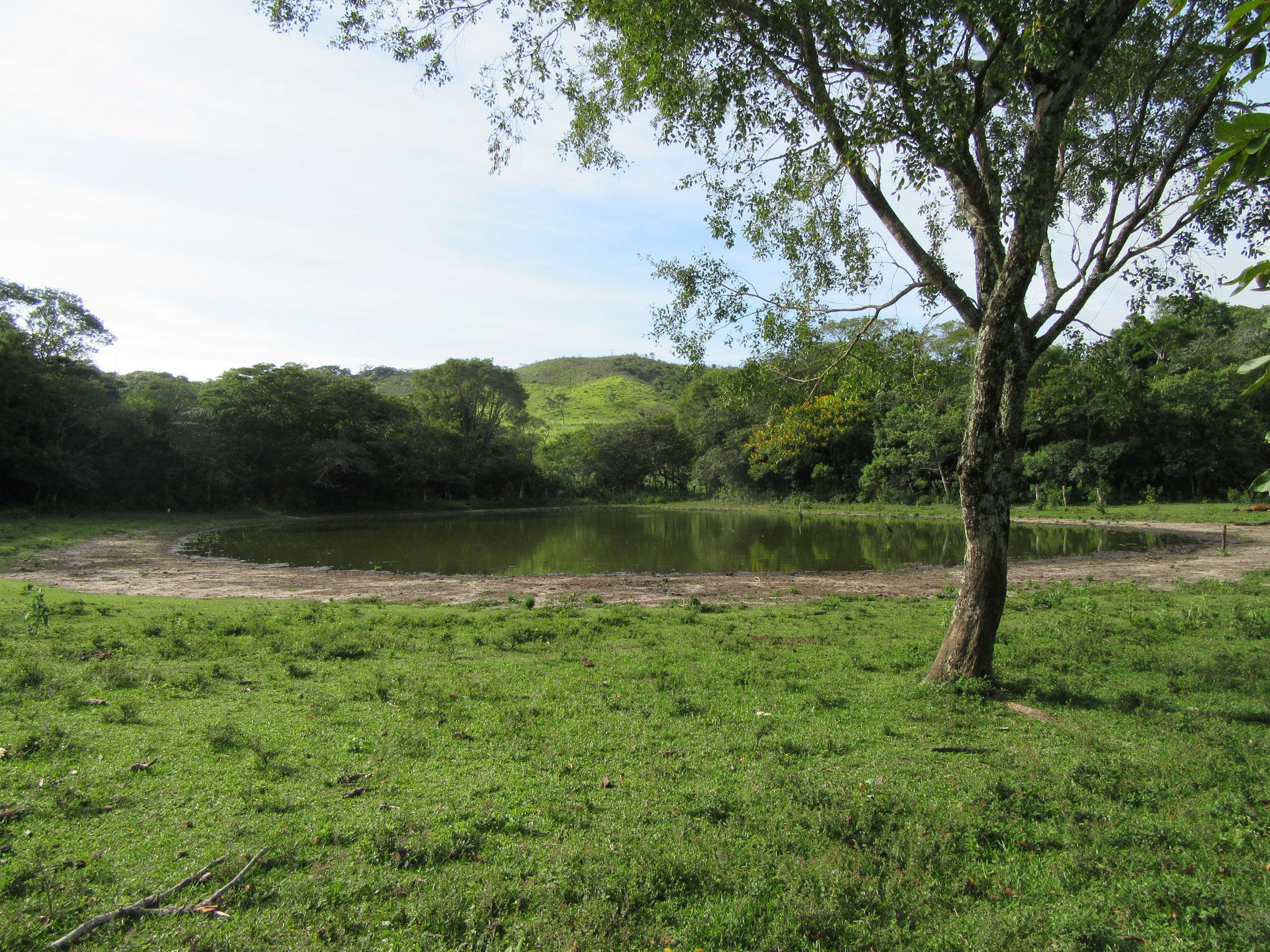 Eine natürliche Lagune auf unserem strategischen Hochplateau