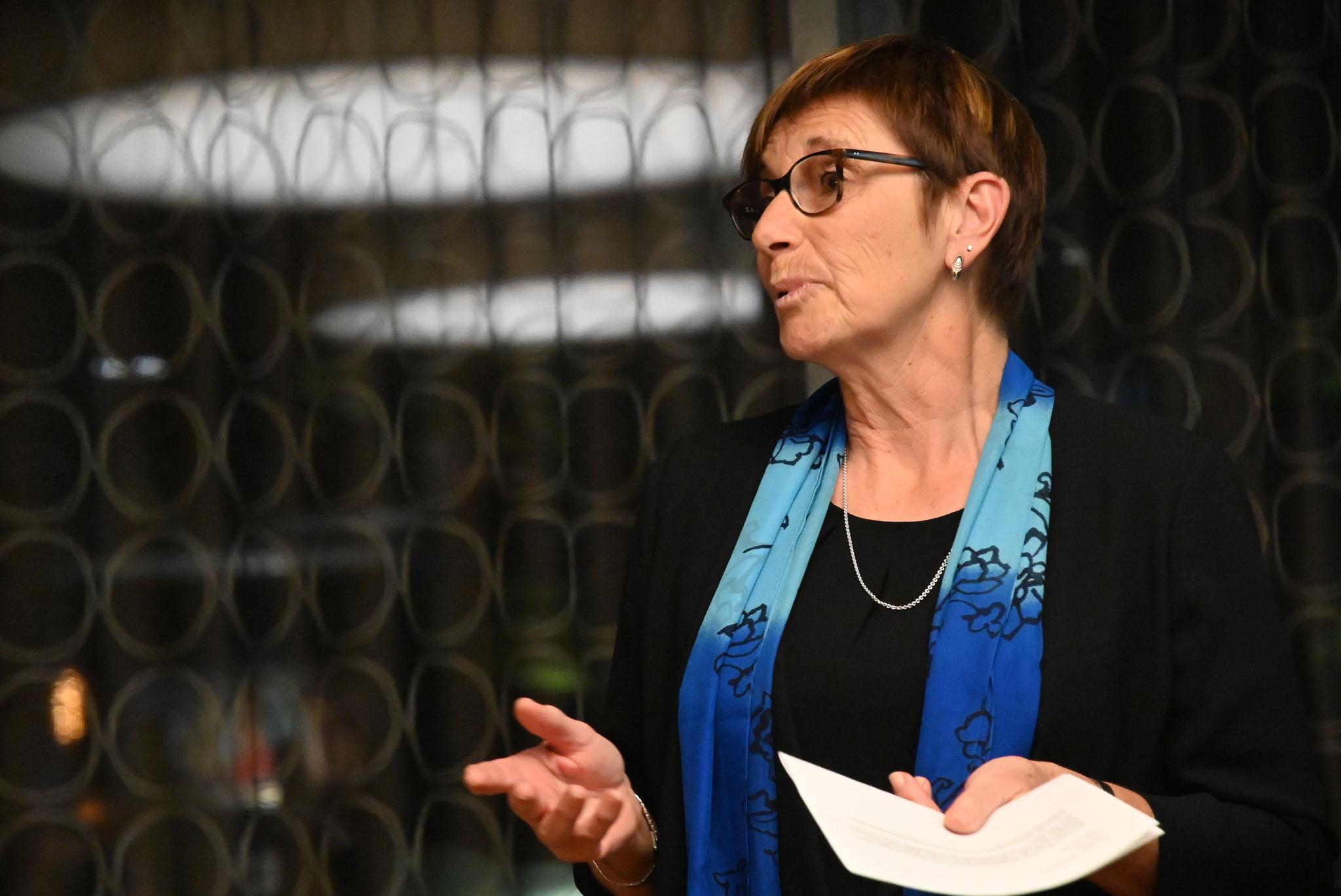 Neue Präsidentin Esther Lang GV Kirchenchor Sursee