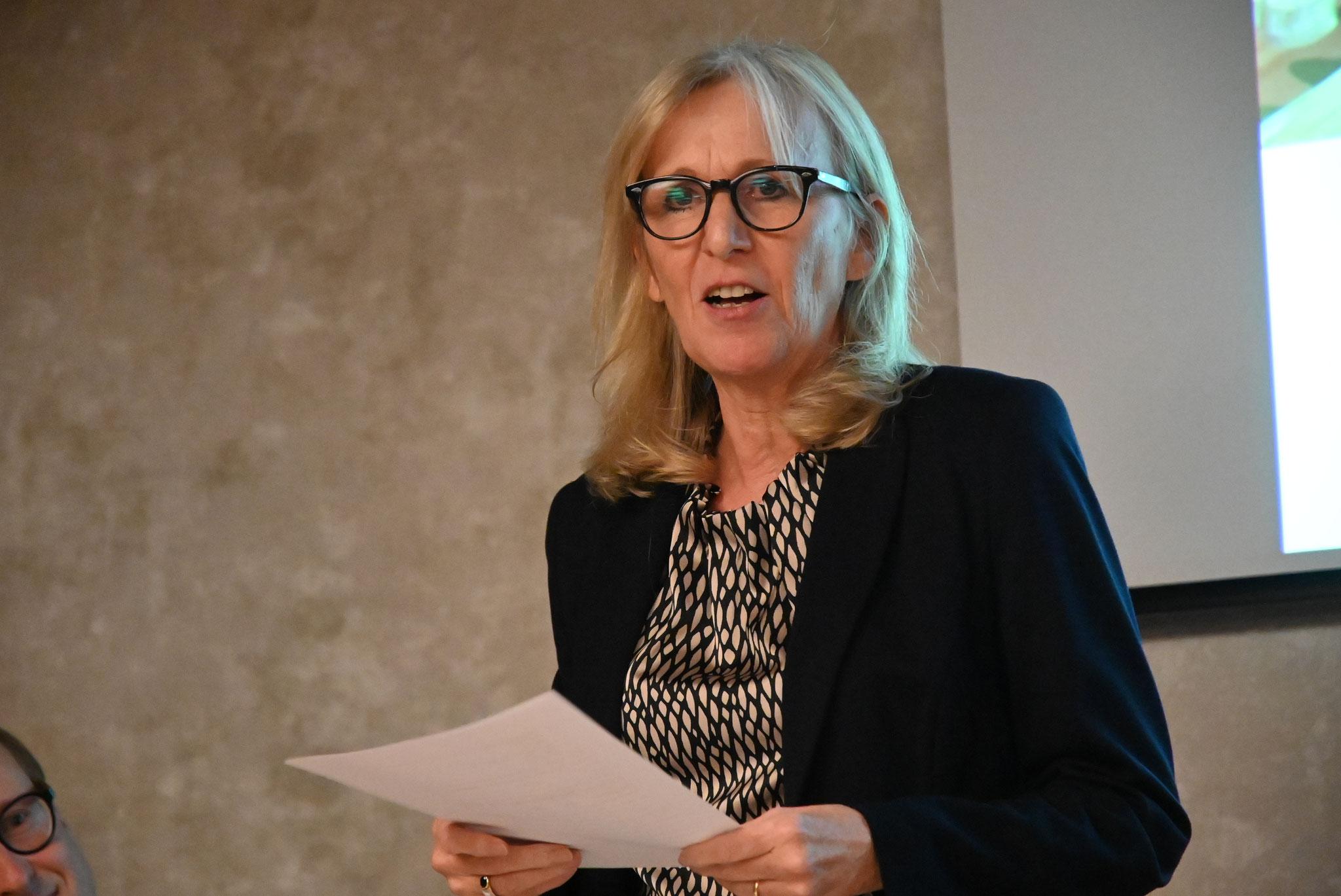 Isabelle Deplazes, Präsidentin GV Kirchenchor Sursee