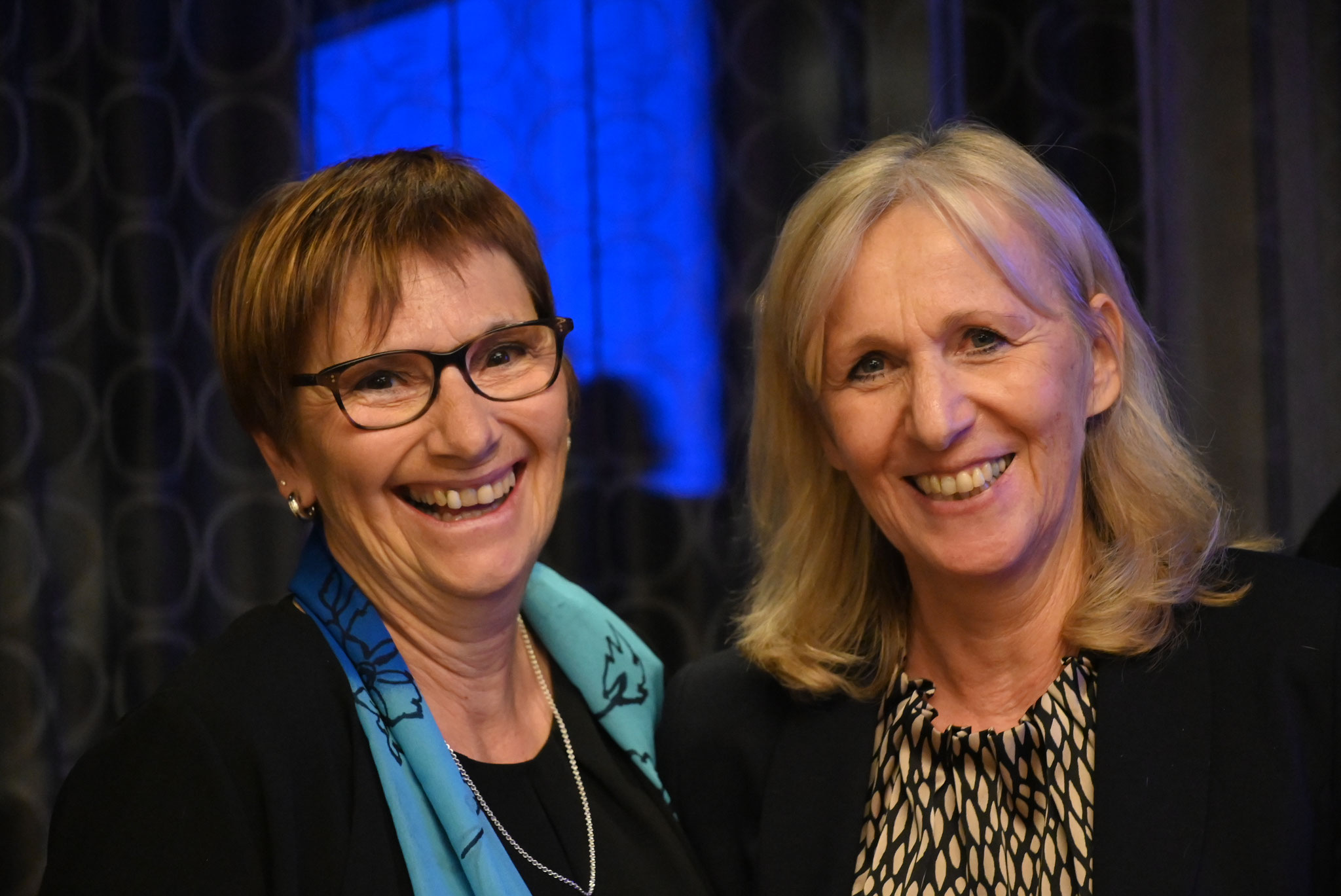 Esther Lang und Isabelle Deplazes GV Kirchenchor Sursee