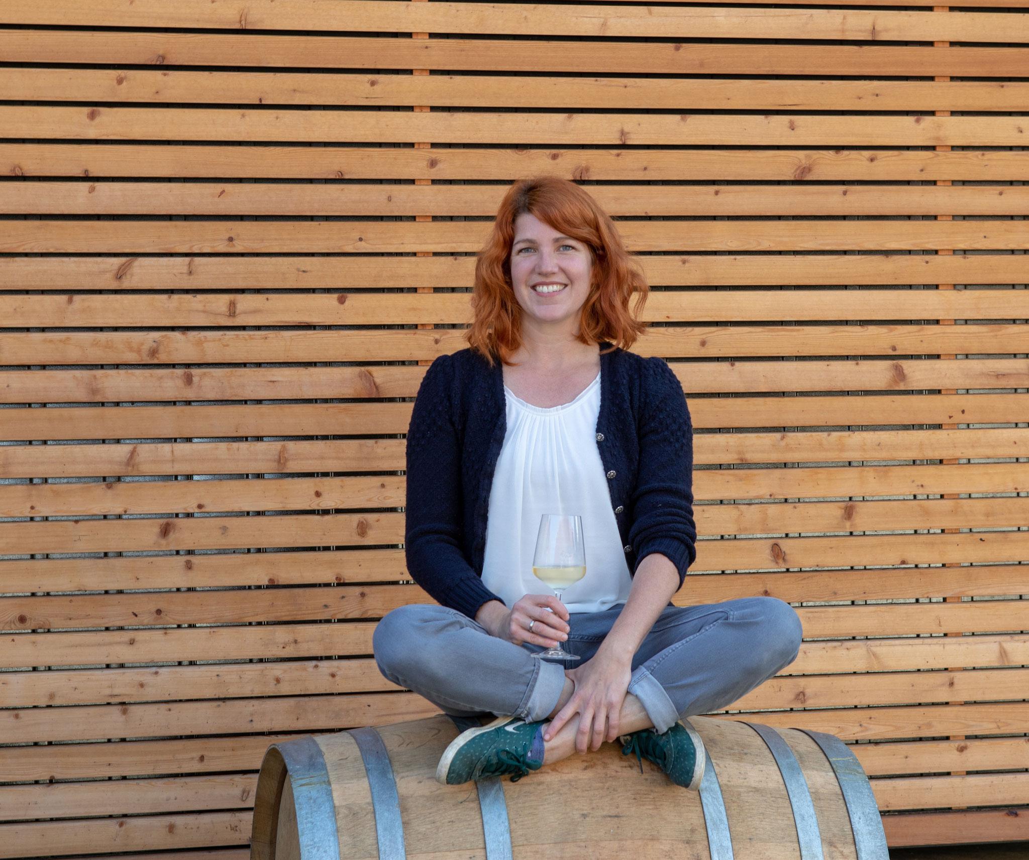 Sigrid Sorger - Betriebsführerin und Ansprechperson in Weingarten, Keller und Verkauf