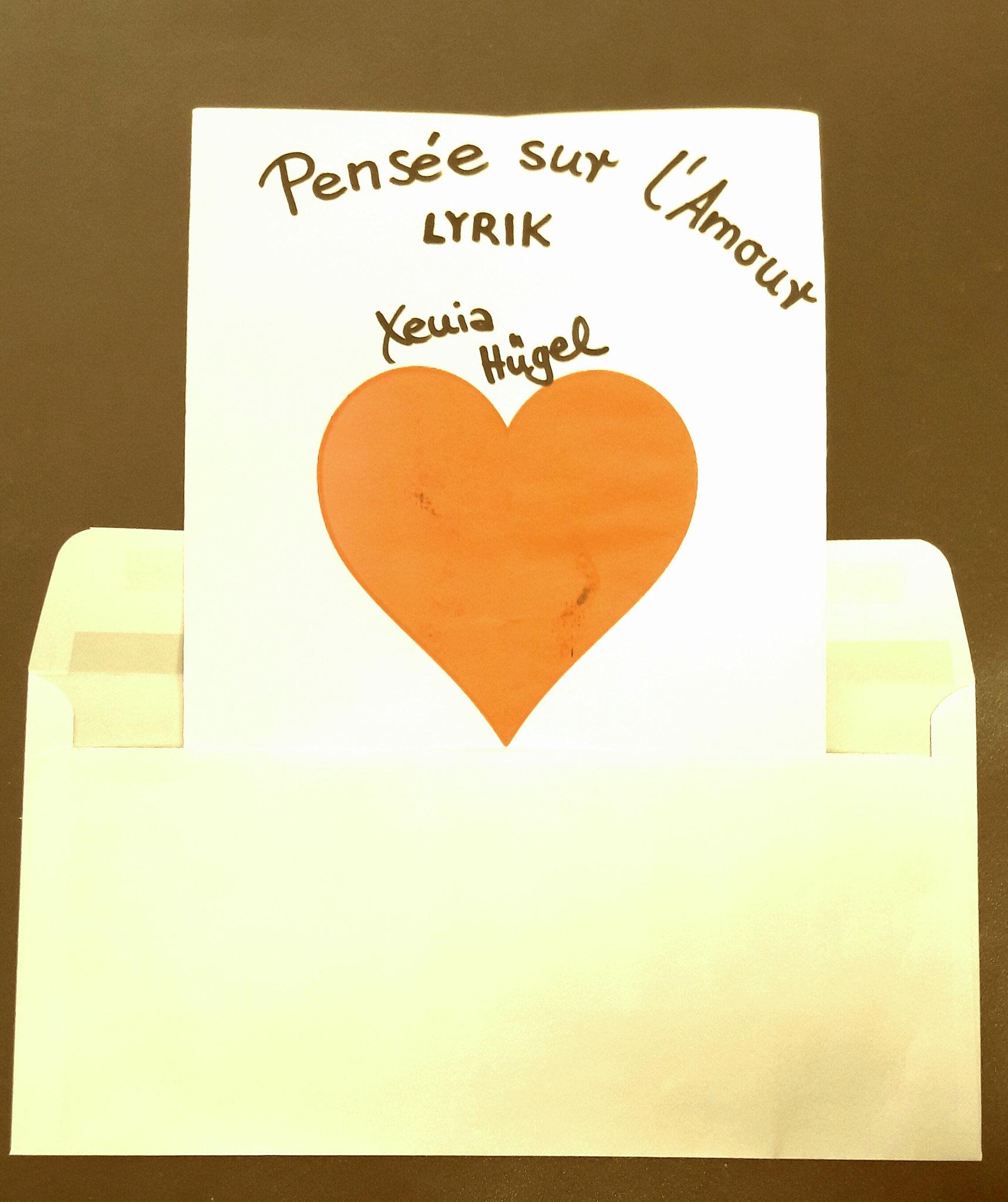 »Pensée sur l'amour« Liebeslyrik von Xenia Hügel