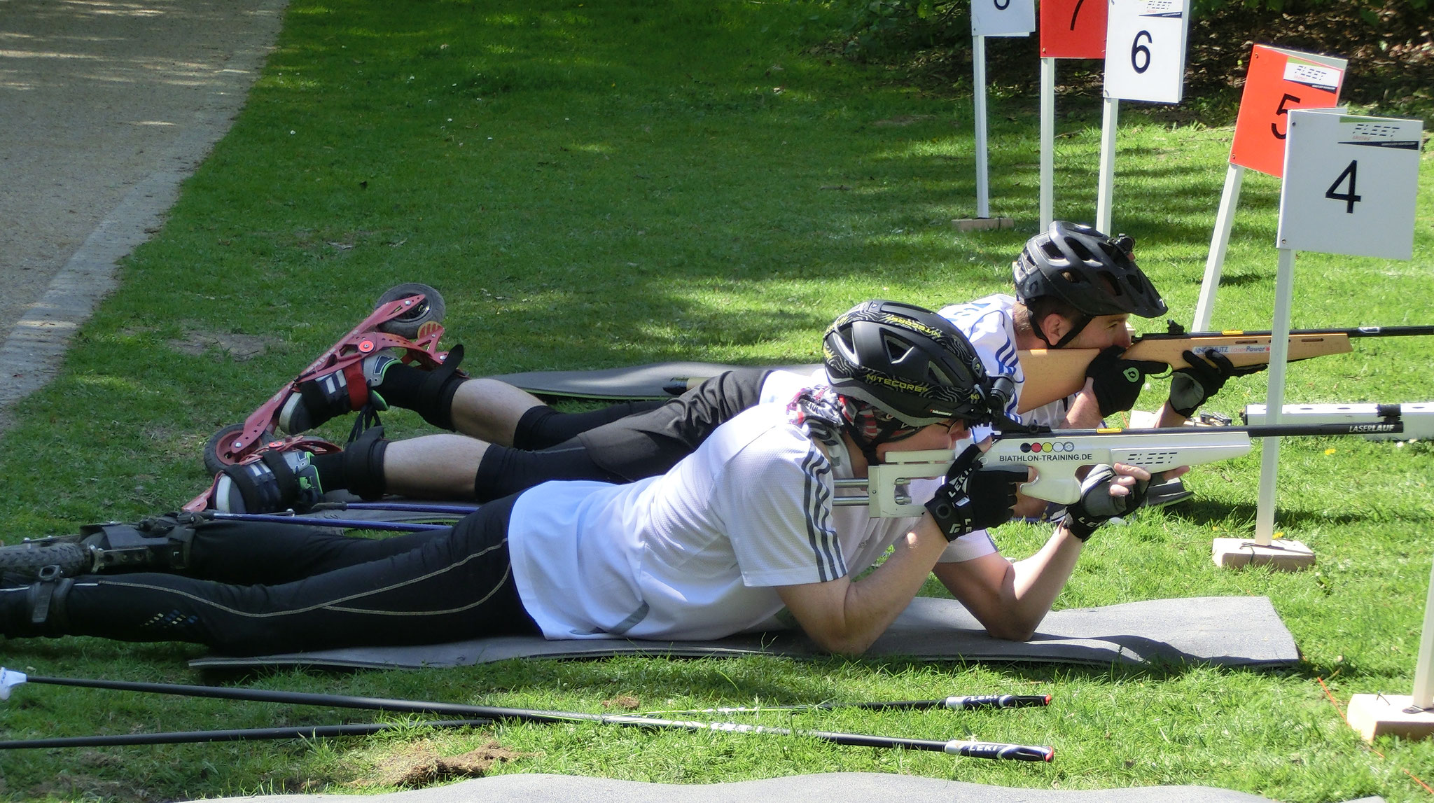 Laser Biathlon Training