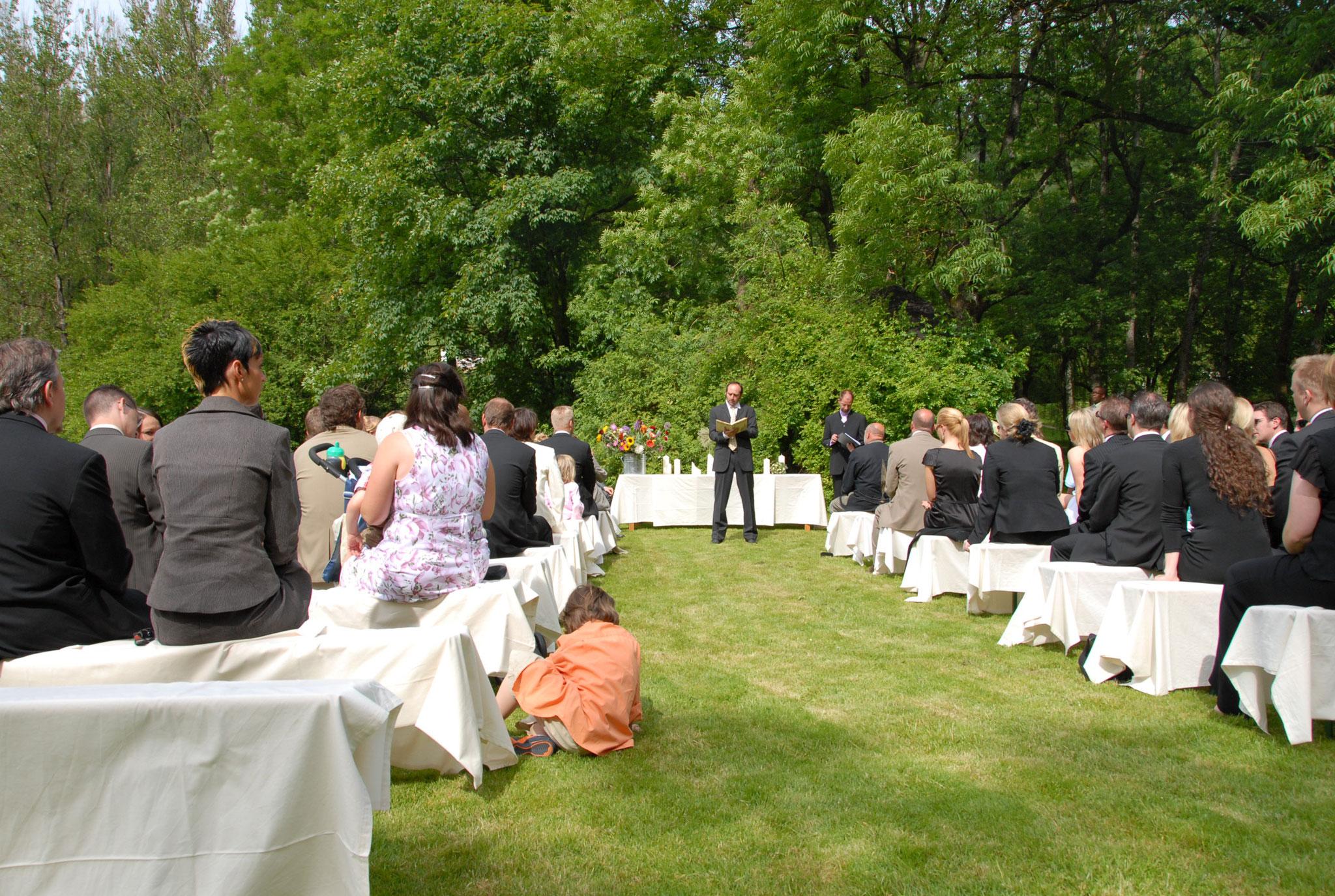 Heiraten unter freiem Himmel | Freie Trauung | Freie Traurednerin | Melanie-Christine Kuhles | Trau dich mit Emma