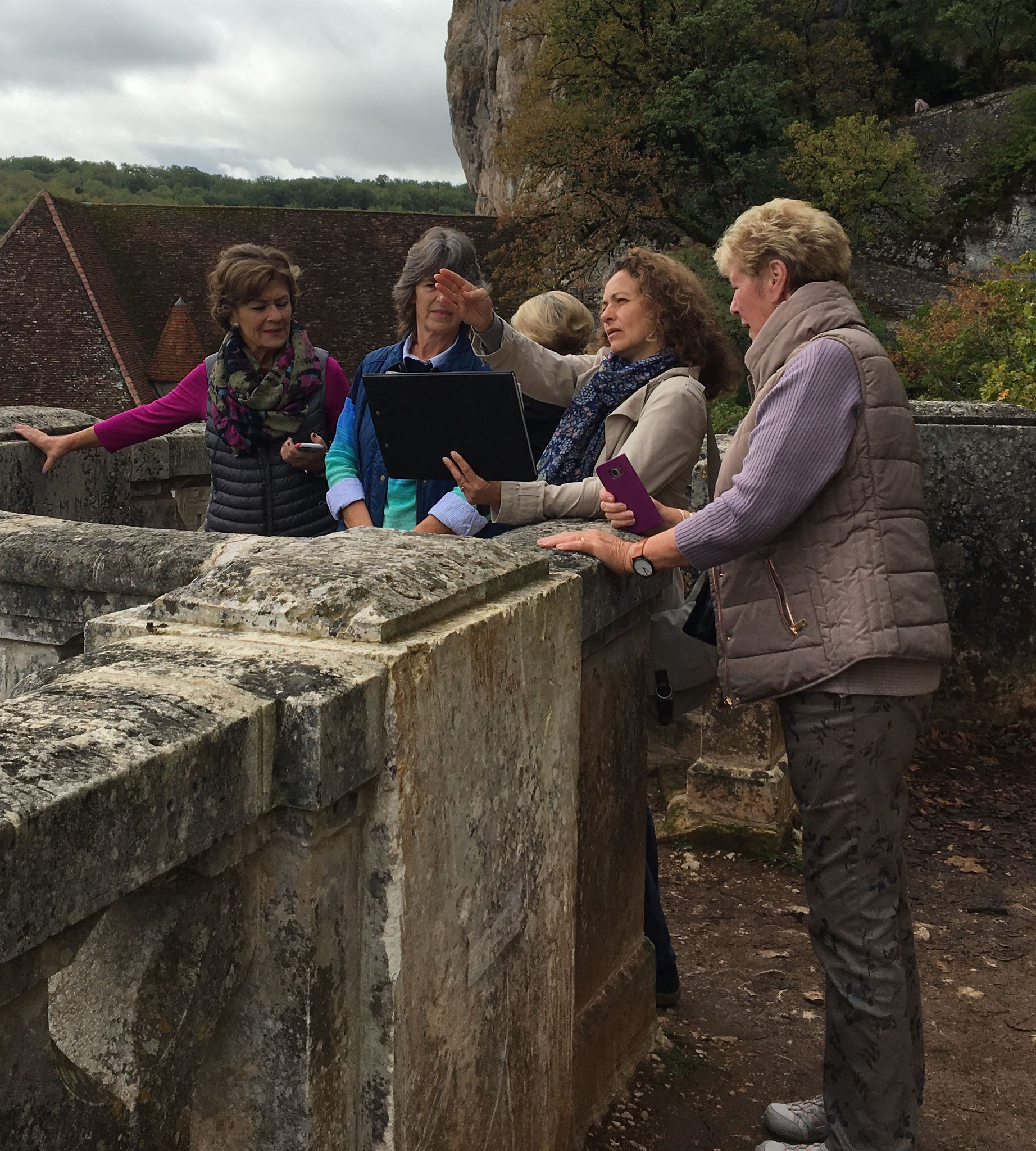 a private guided tour in Rocamadour