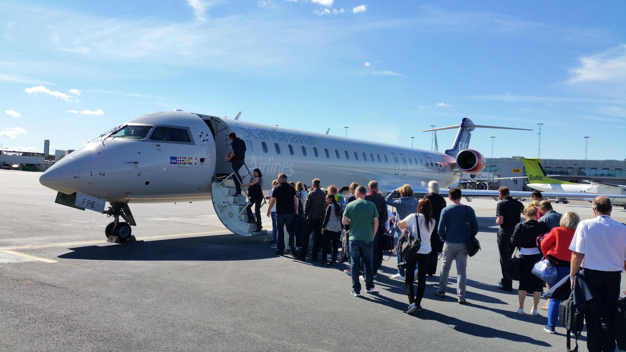 ...und Hamburg nach Helsinki.