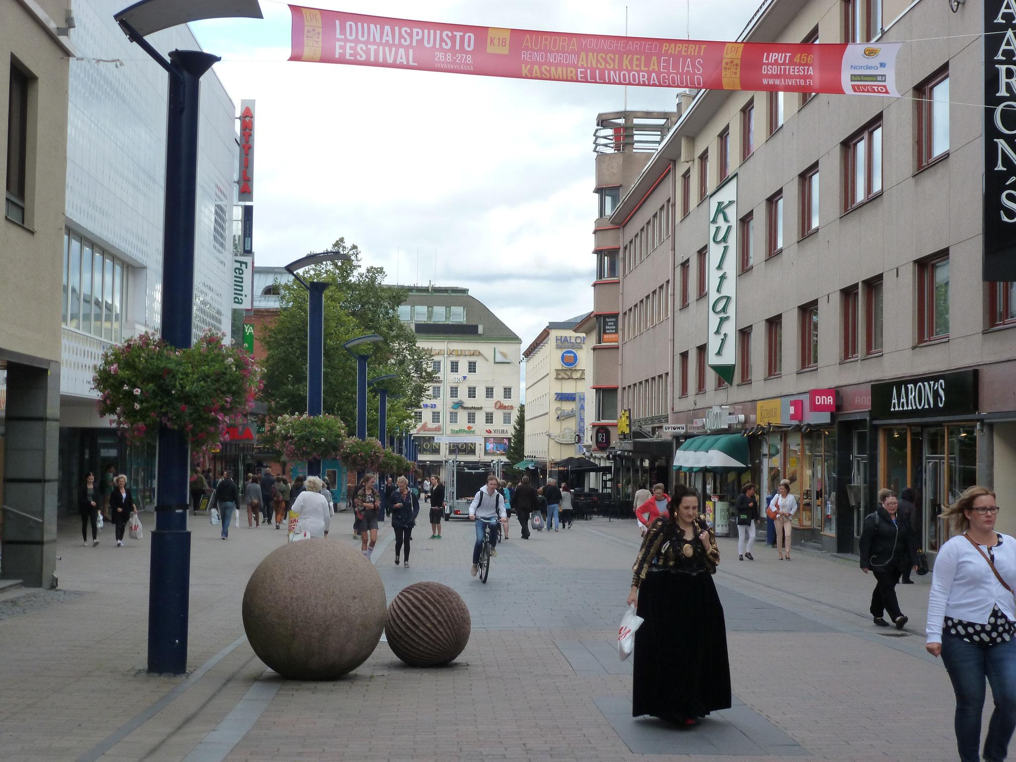 ...denn Jyväskylä ist in erster Linie eine bekannte Universitätsstadt.