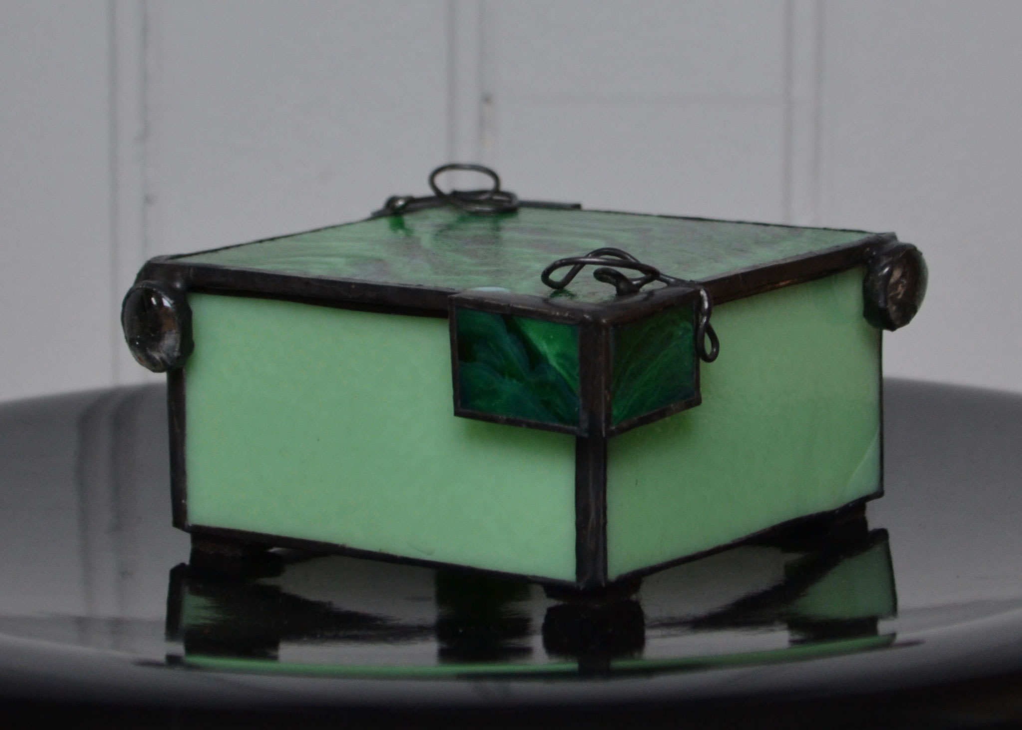 Boîte en Tiffany (11,5 x 10,5 x 5 cm) 50€