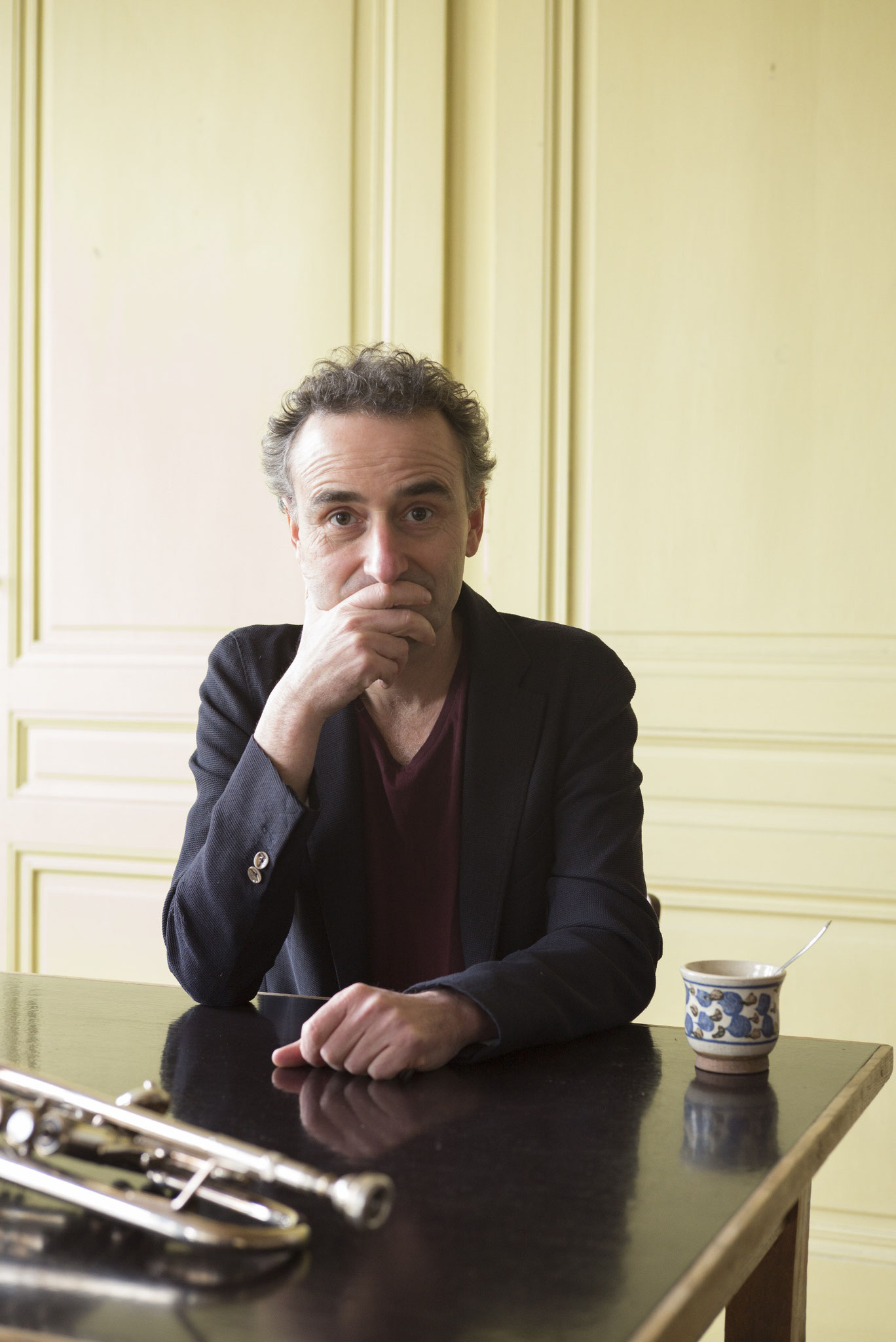 Musician Gilles Poizat