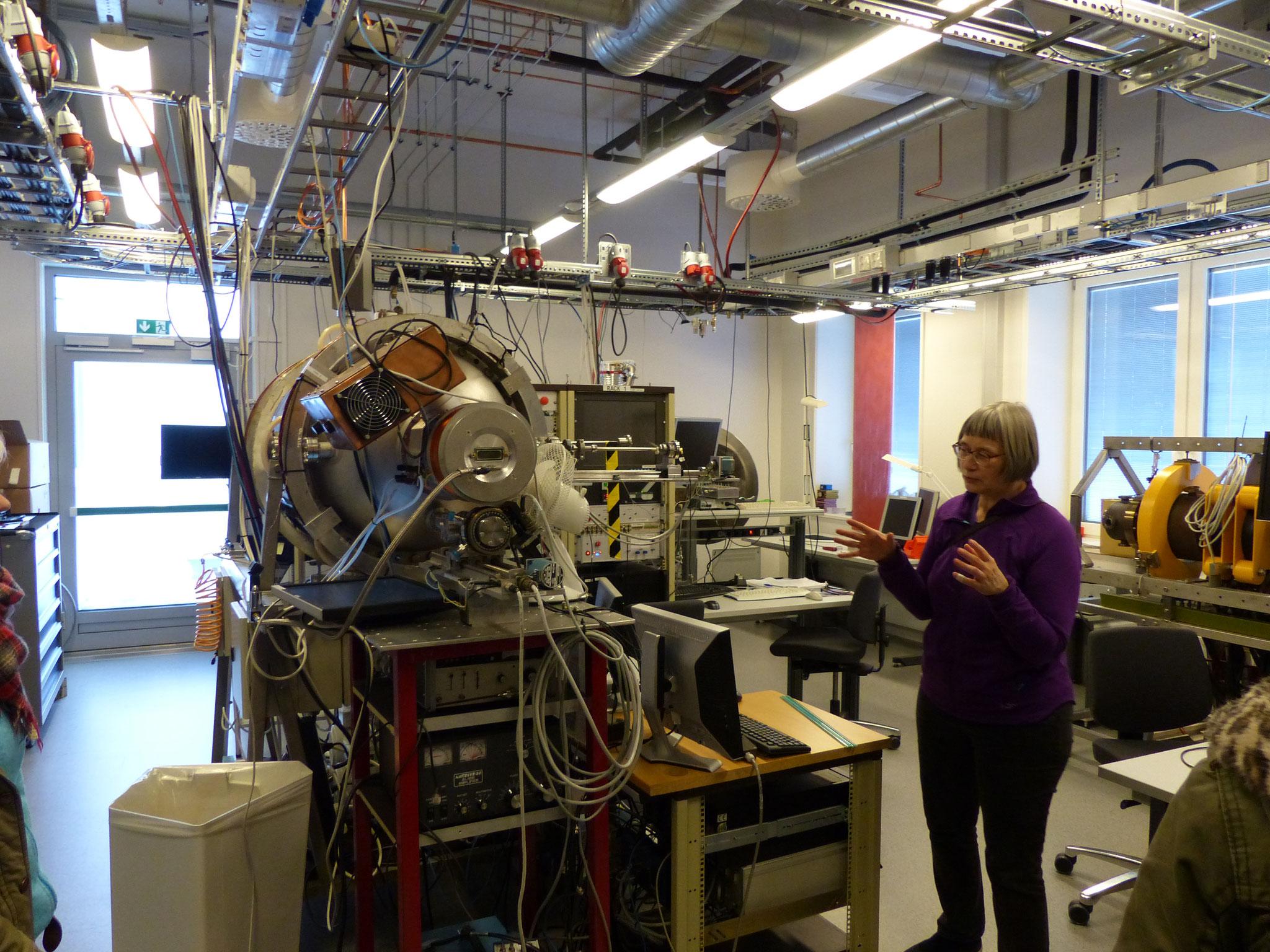 Åshild Fredrikse zeigt uns ihr Labor