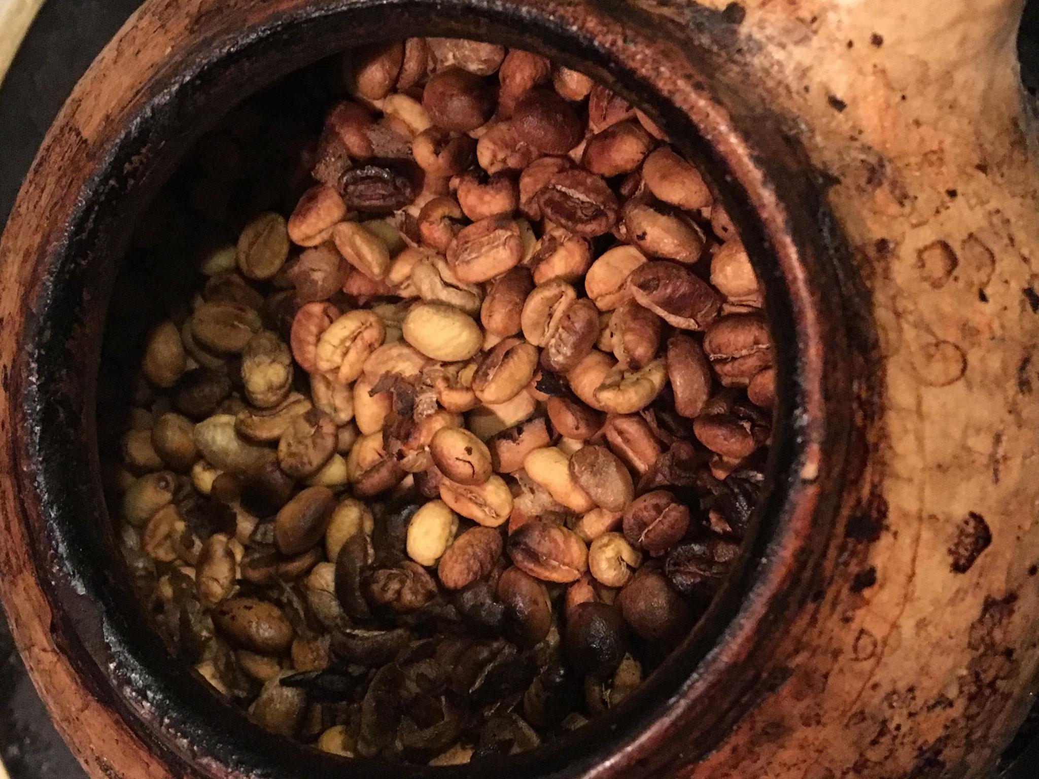 メキシコ・セスマッチ・ピーベリー(自家焙煎手焼き)