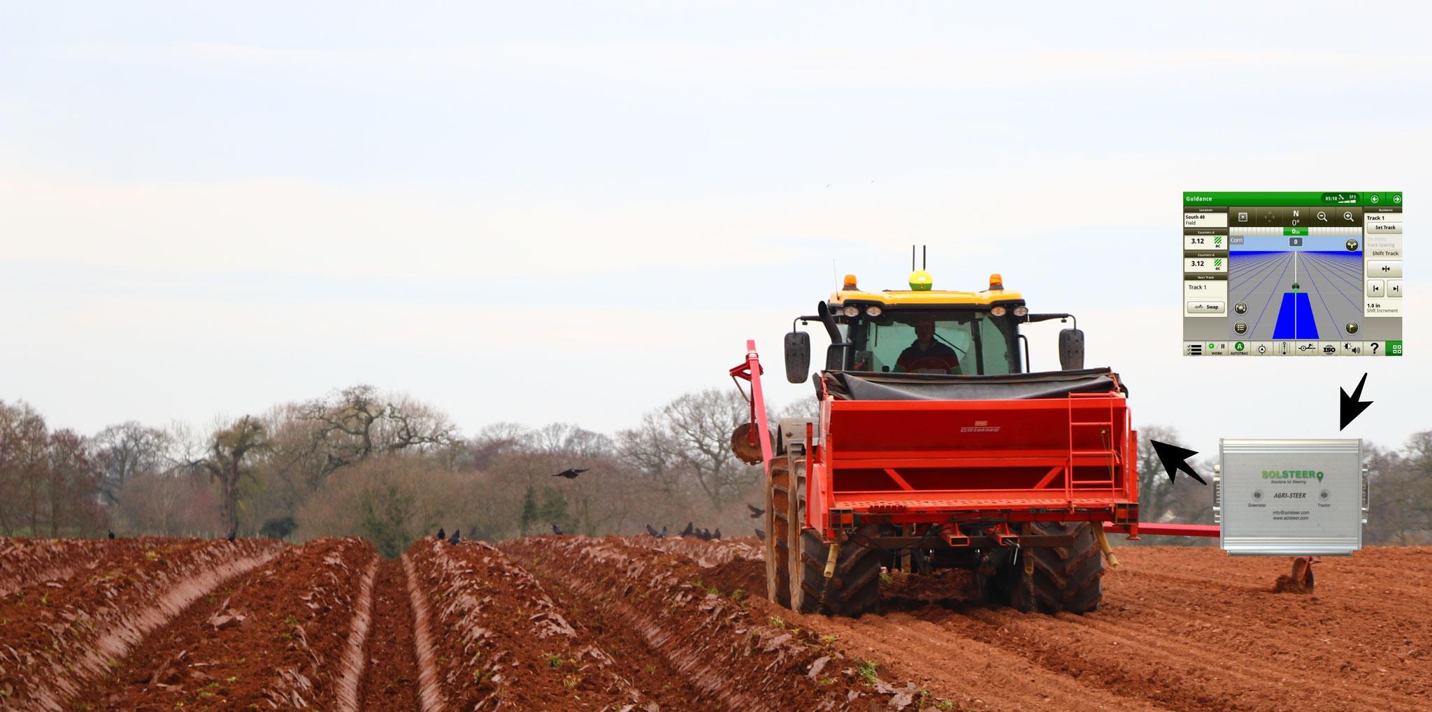 JCB Fastrac Agri-Steer