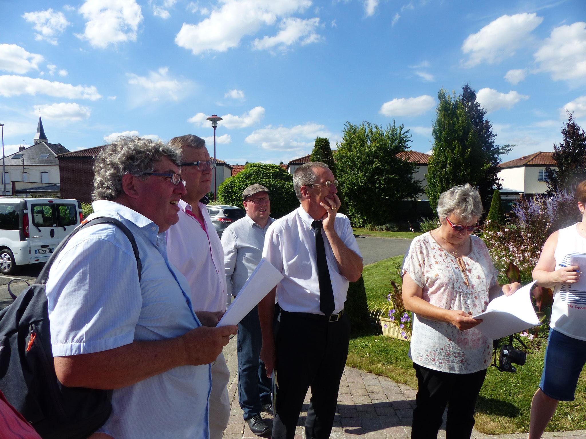 visite à Gouy-sous-Belonne