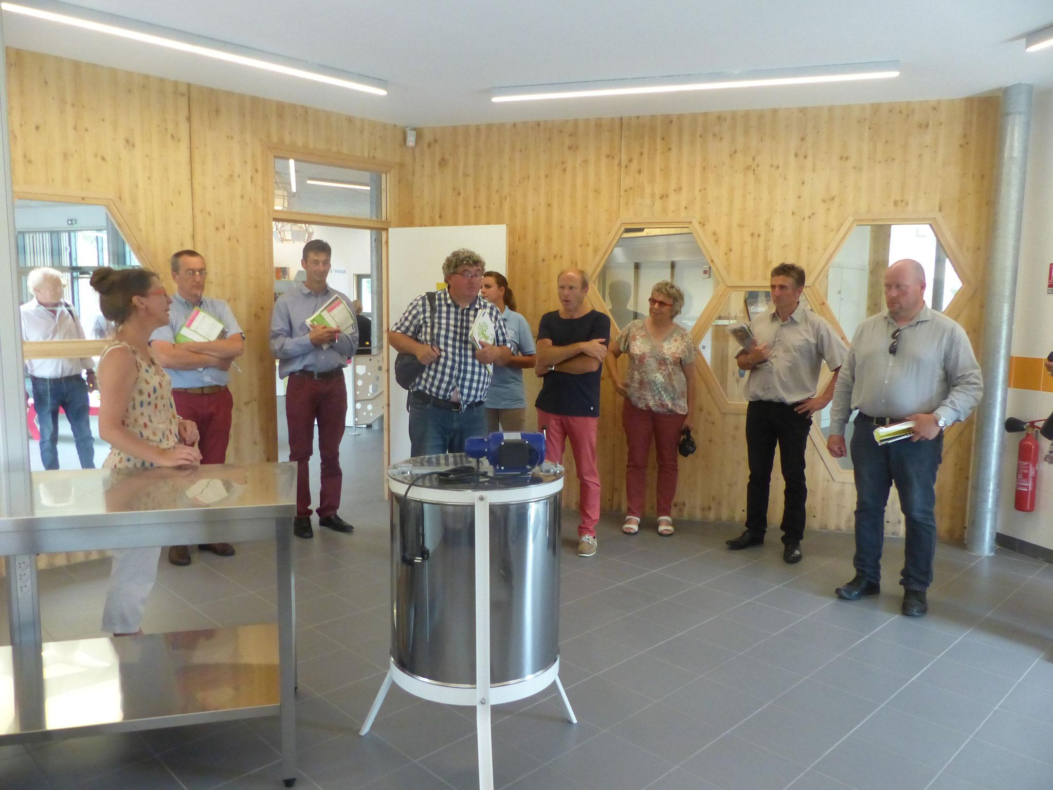 visite de la miellerie à Loon-Plage