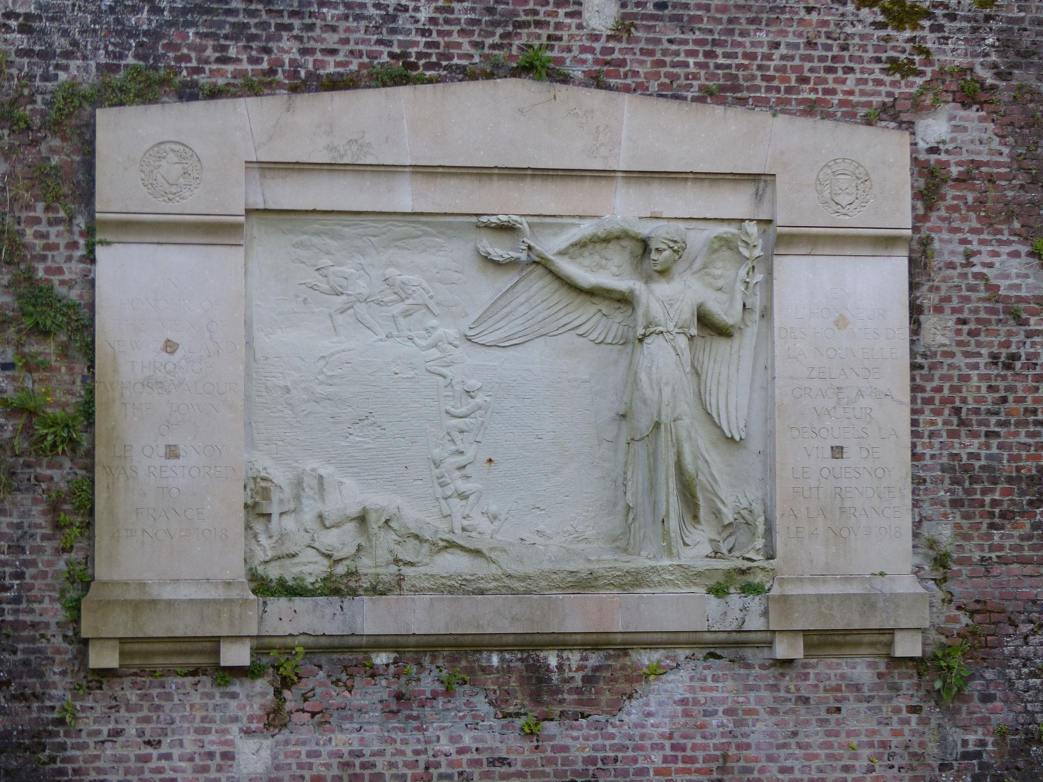 Mémorial Néo-Zélandais érigé en 1923