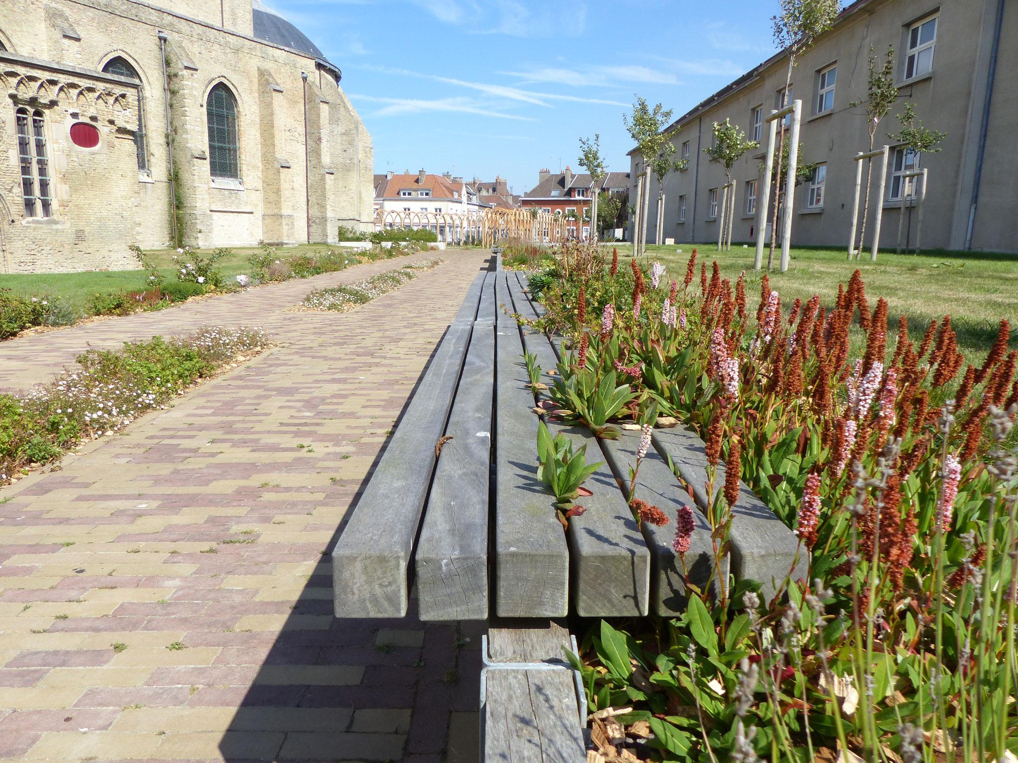 oeuvre paysagère du jardin Tudor