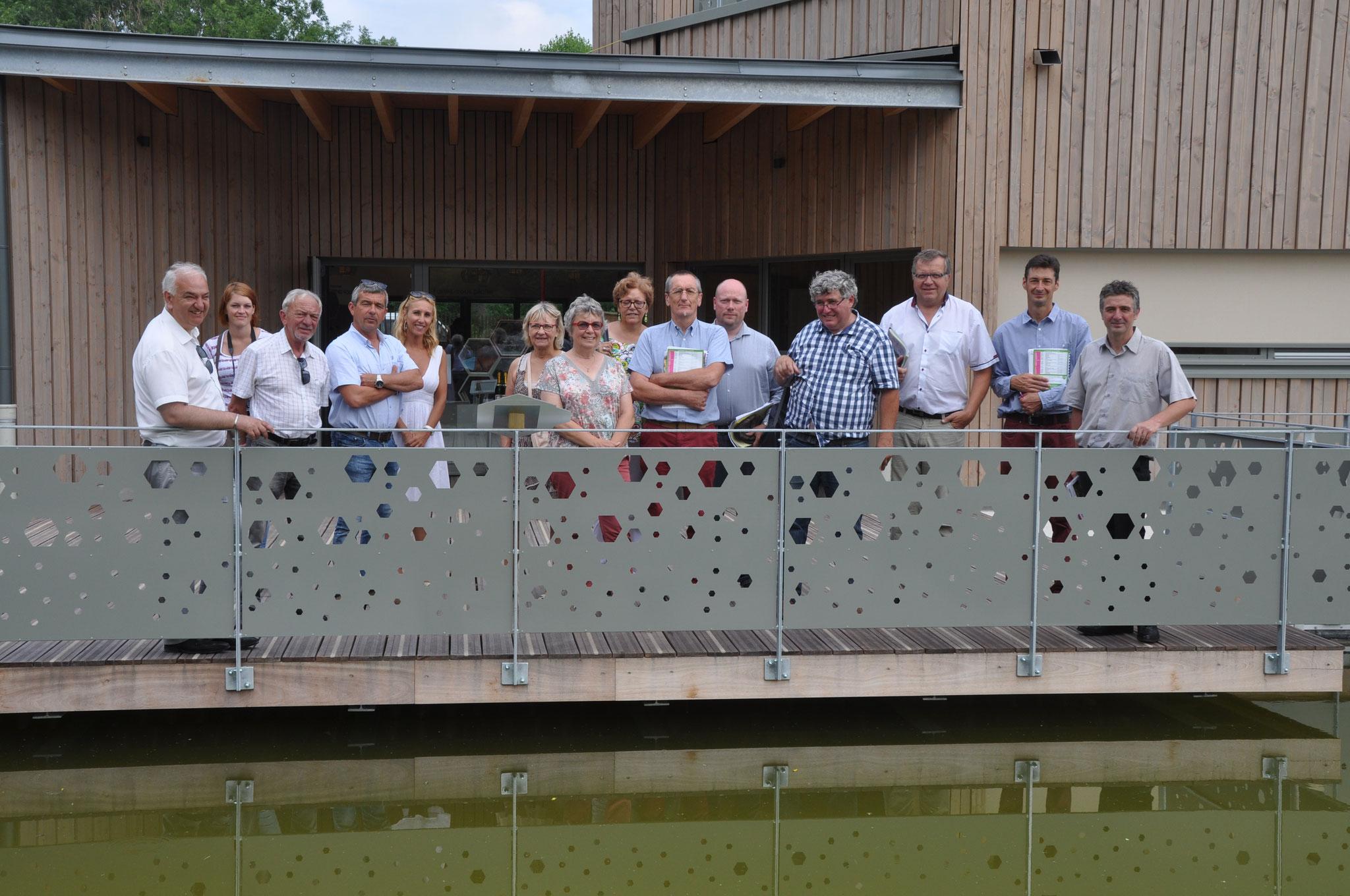 visite de la Maison de la Nature à Loon-Plage