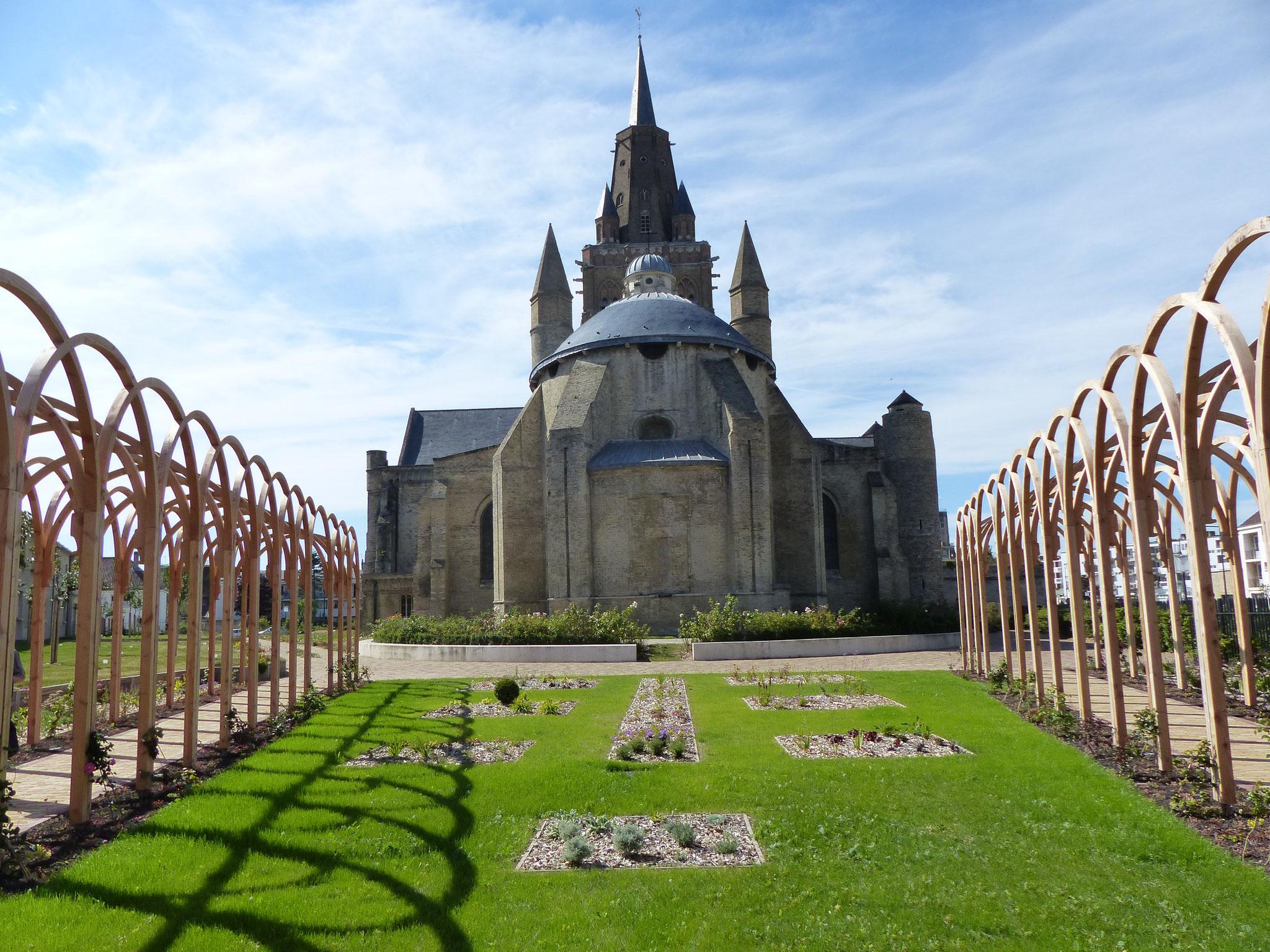 l'église Notre Dame et l'oeuvre paysagère