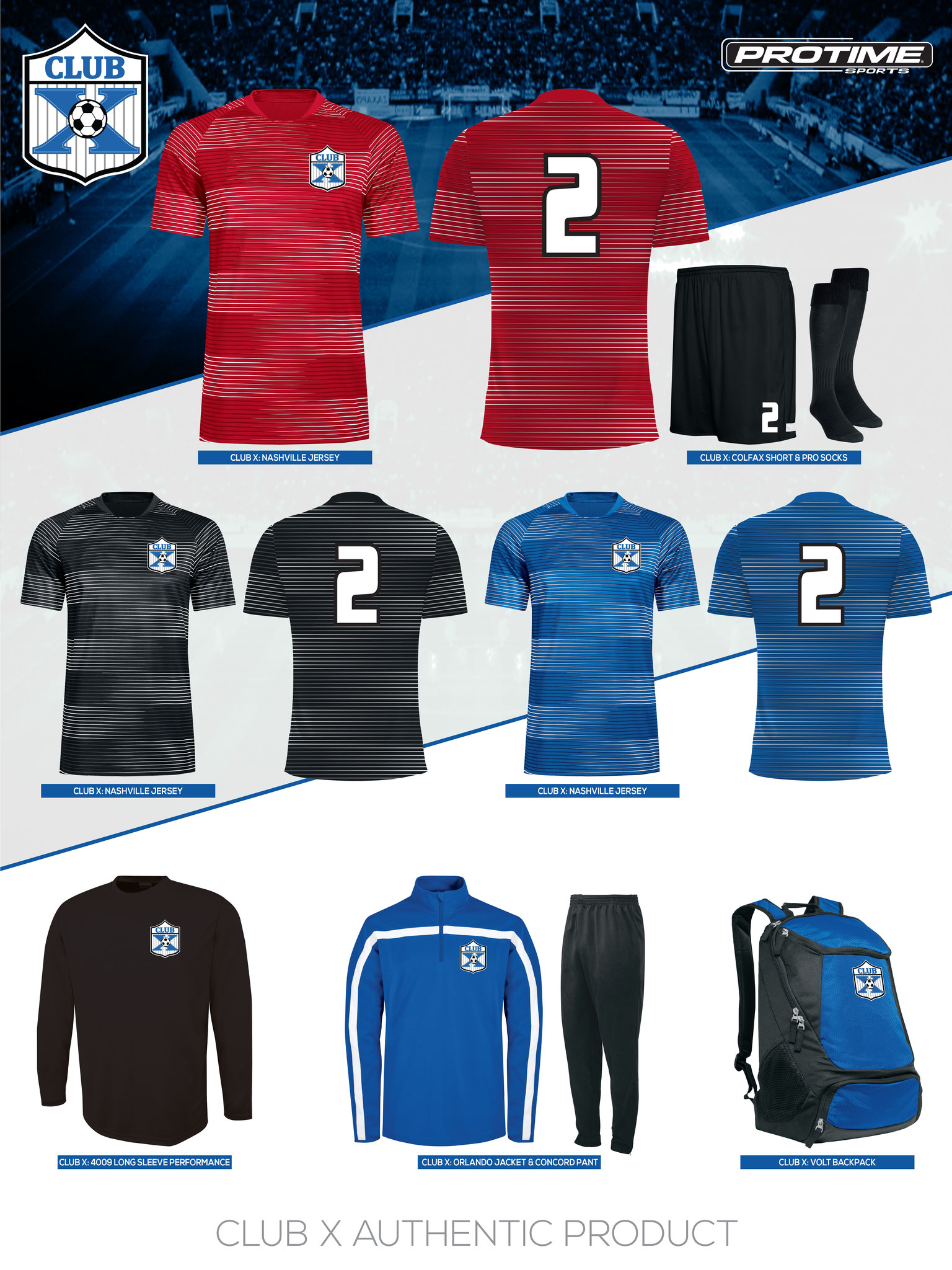 reputable site 190ce 90f08 UNIFORMS - Club X Soccer | Competitive Soccer Club in ...