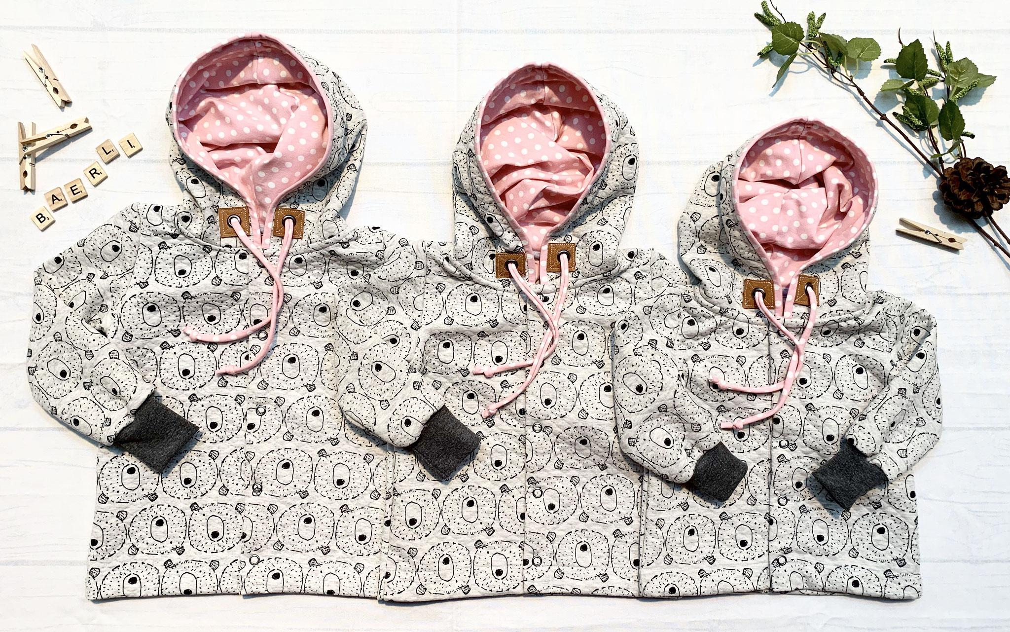 Mantel Bärli rosa