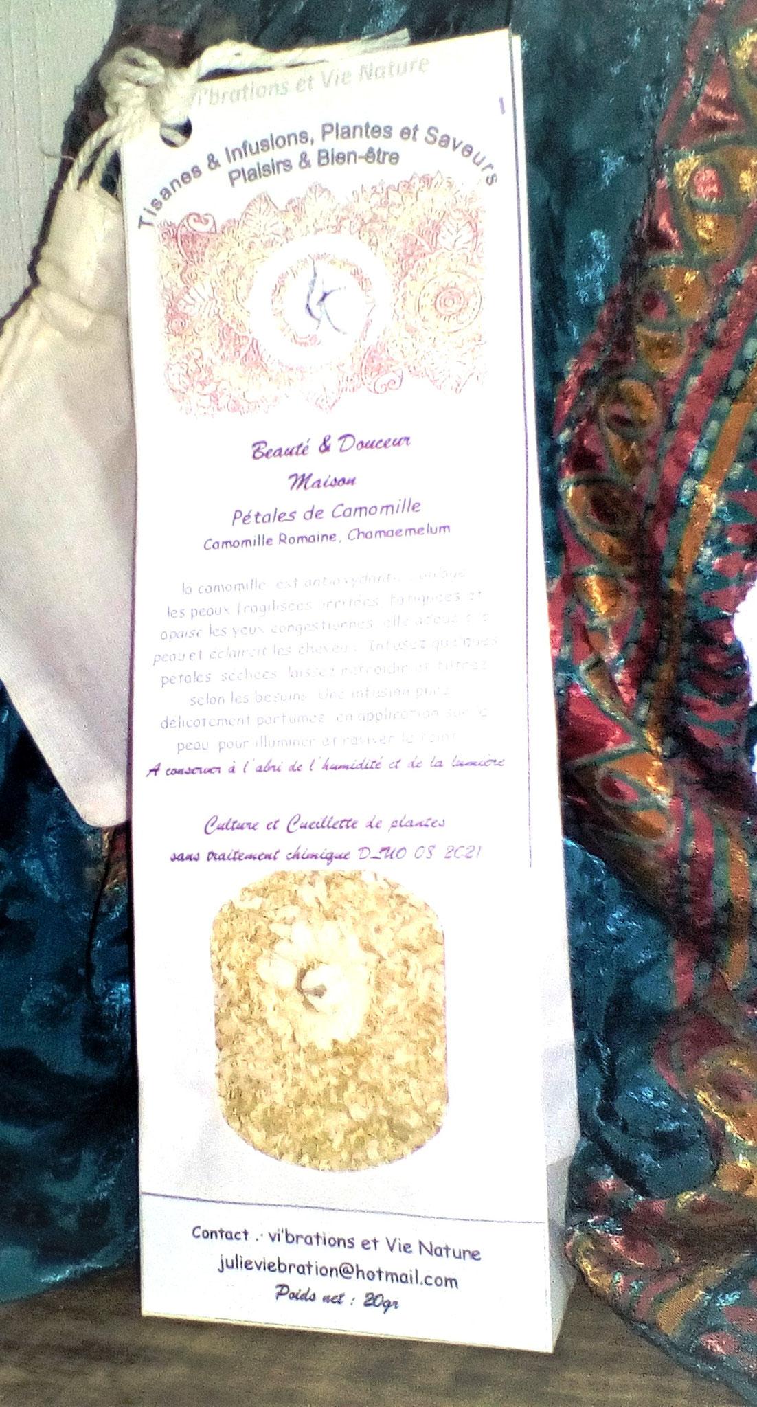 Pétales de camomille Romaine Beauté & Douceur Maison