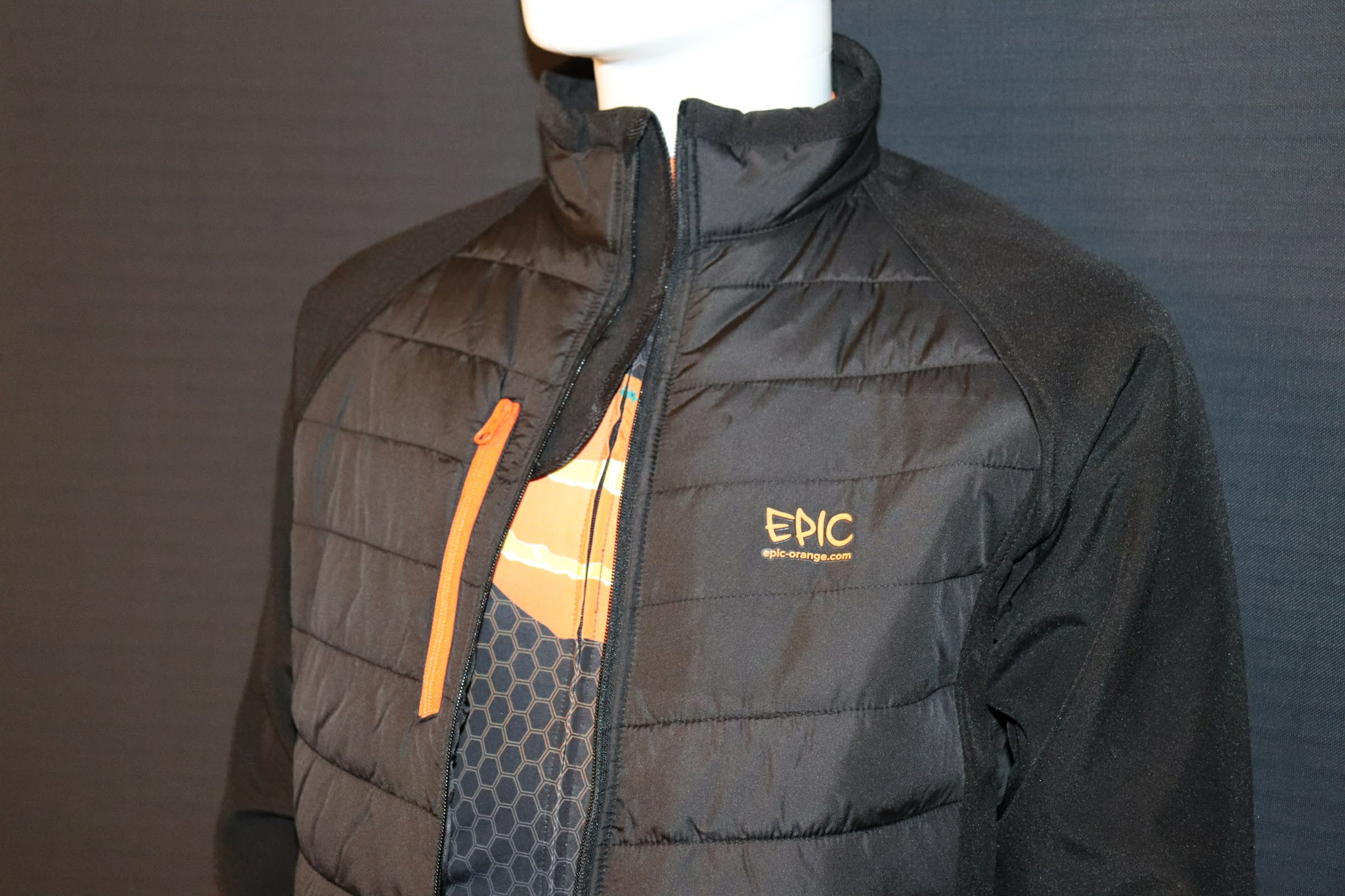 Custom Printed Padded Soft Shell Jackets - Zip Storm Guard