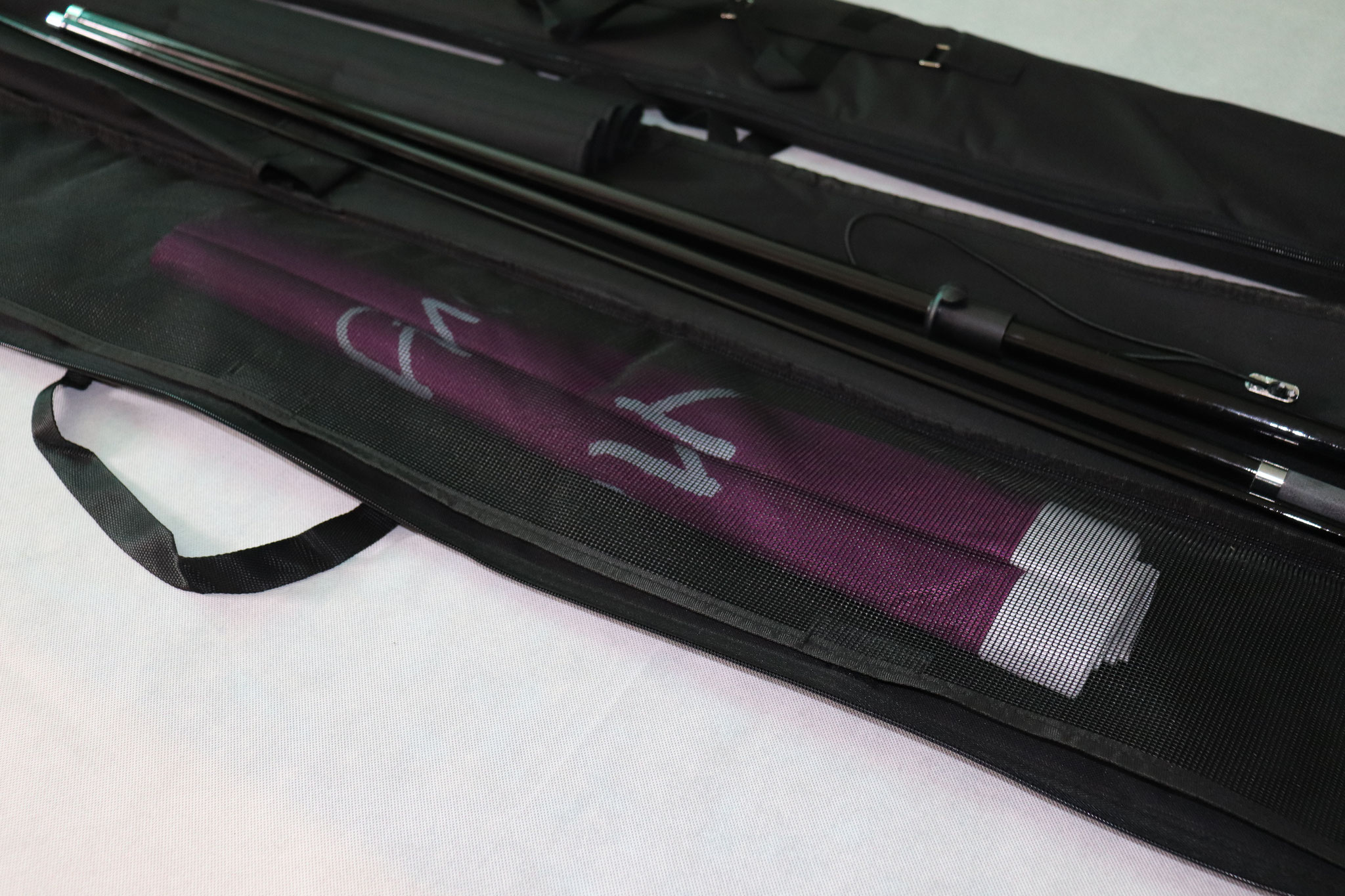 Fibrelight Printed Feather Flags - Printed Graphic Storage Pocket