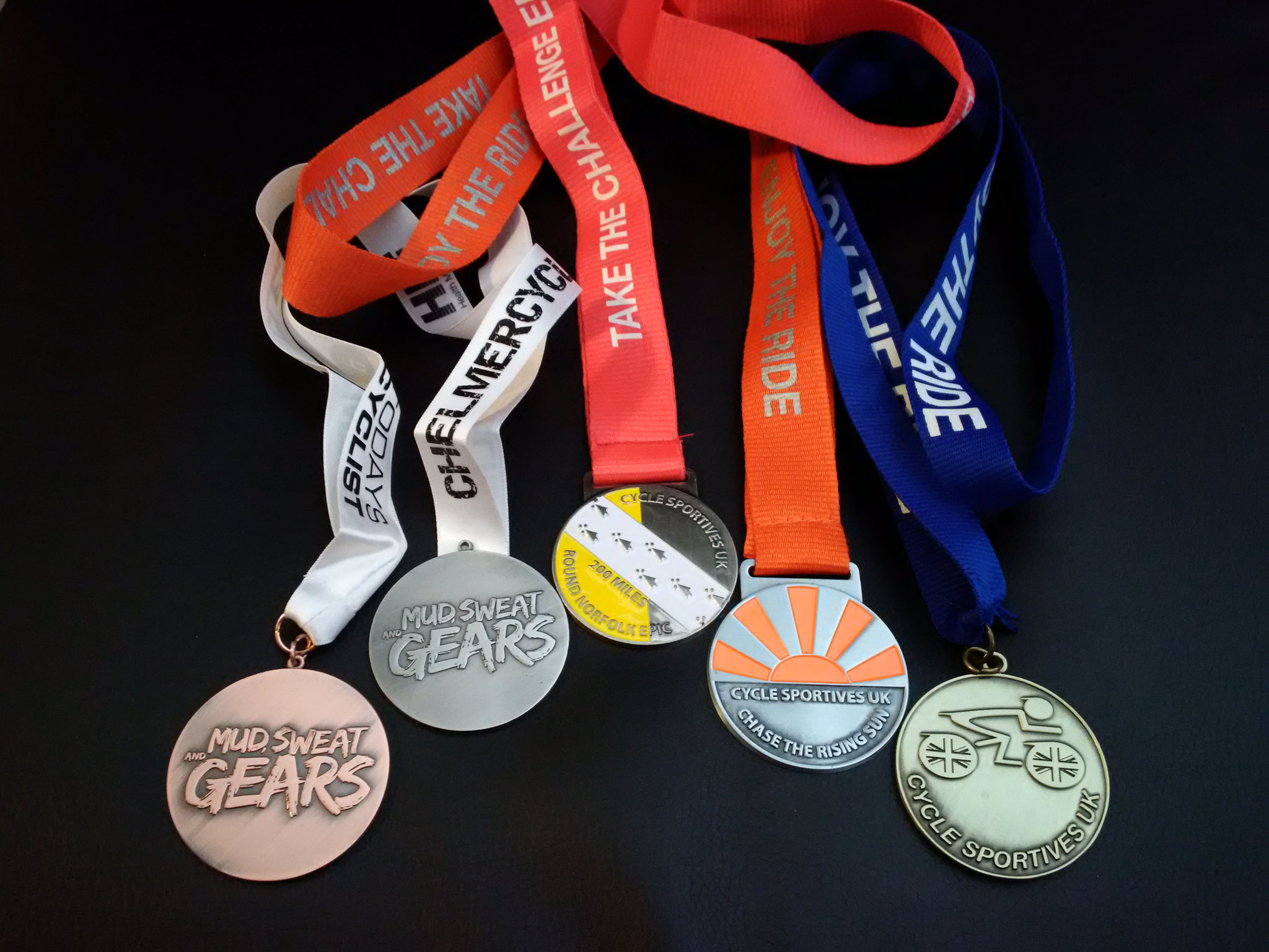 Custom made Sports Medals