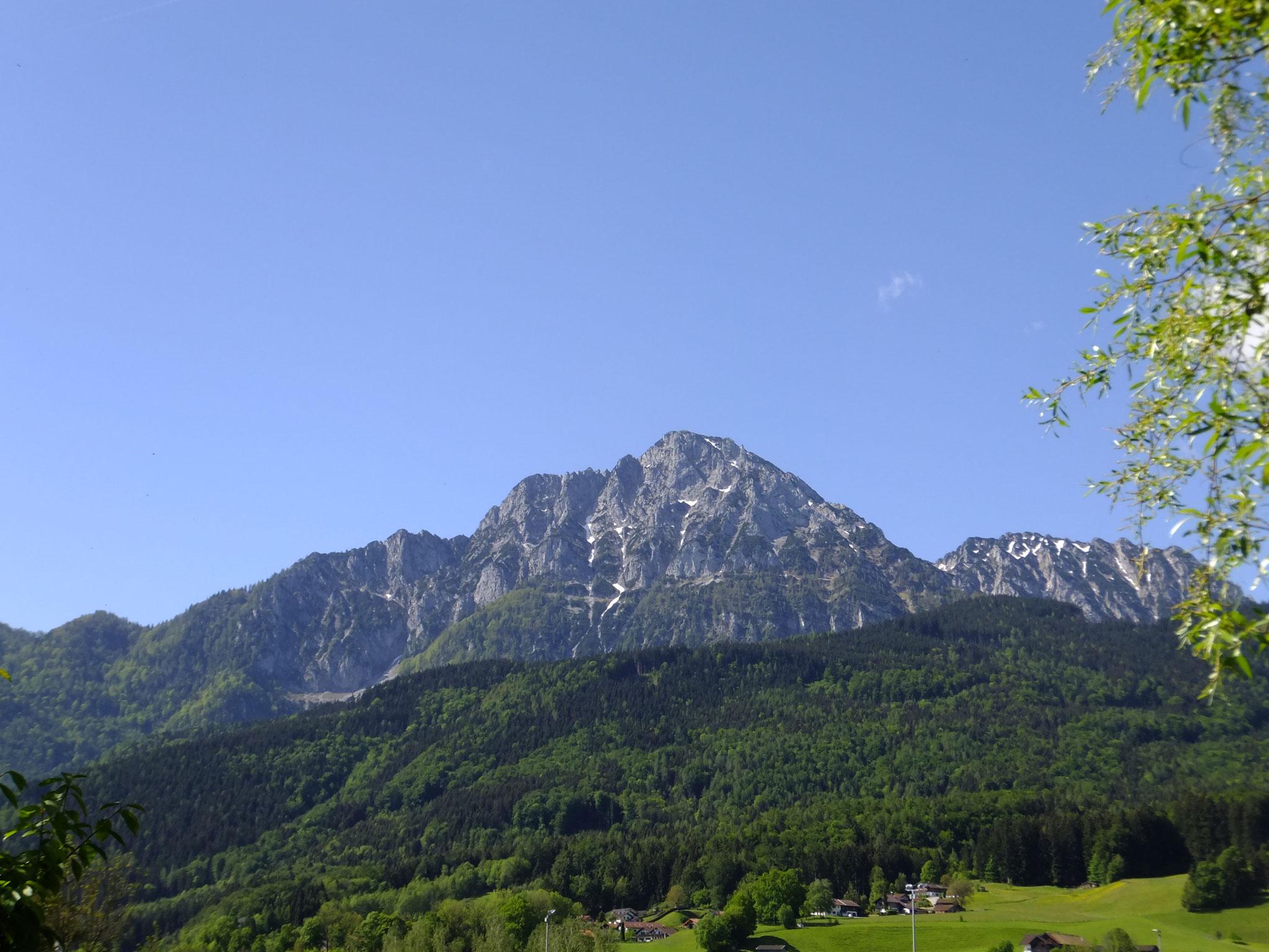 Blick Richtung Staufen und Zwiesel