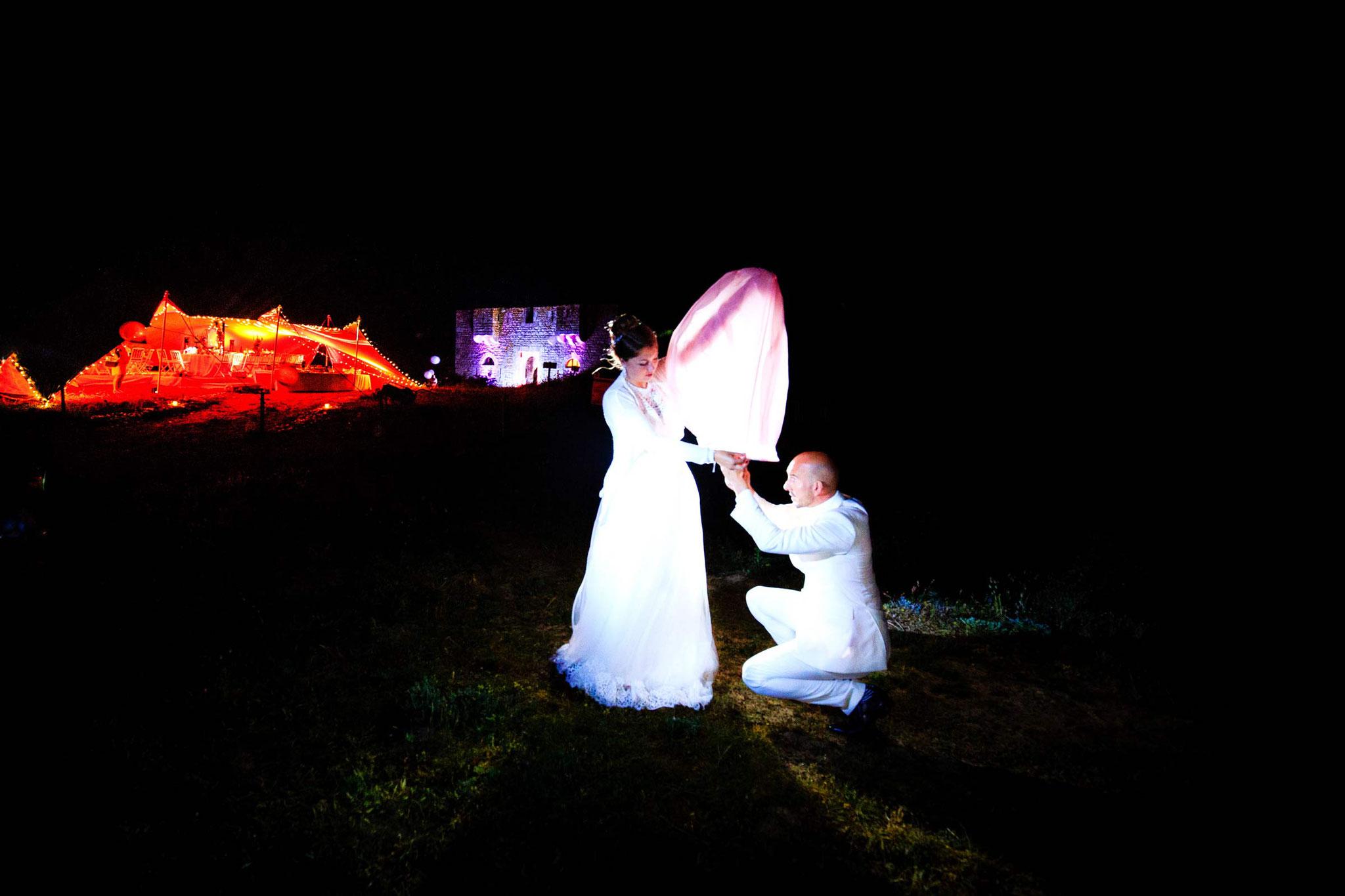Des photographies de mariages qui sortent de l'ordinaire, Photographe de mariages à l'île de Houat Fort d'ental