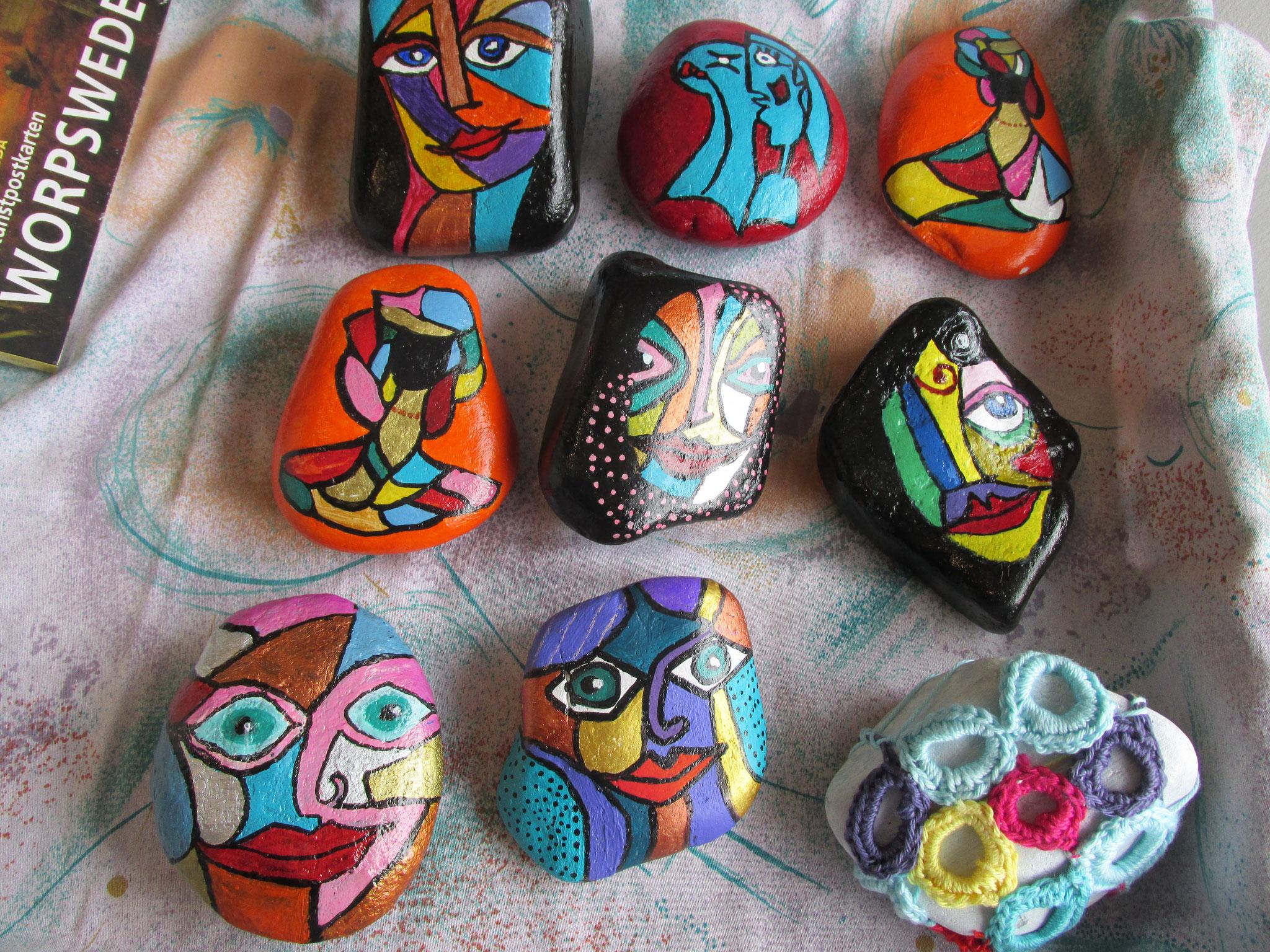 bemalte Steine 2