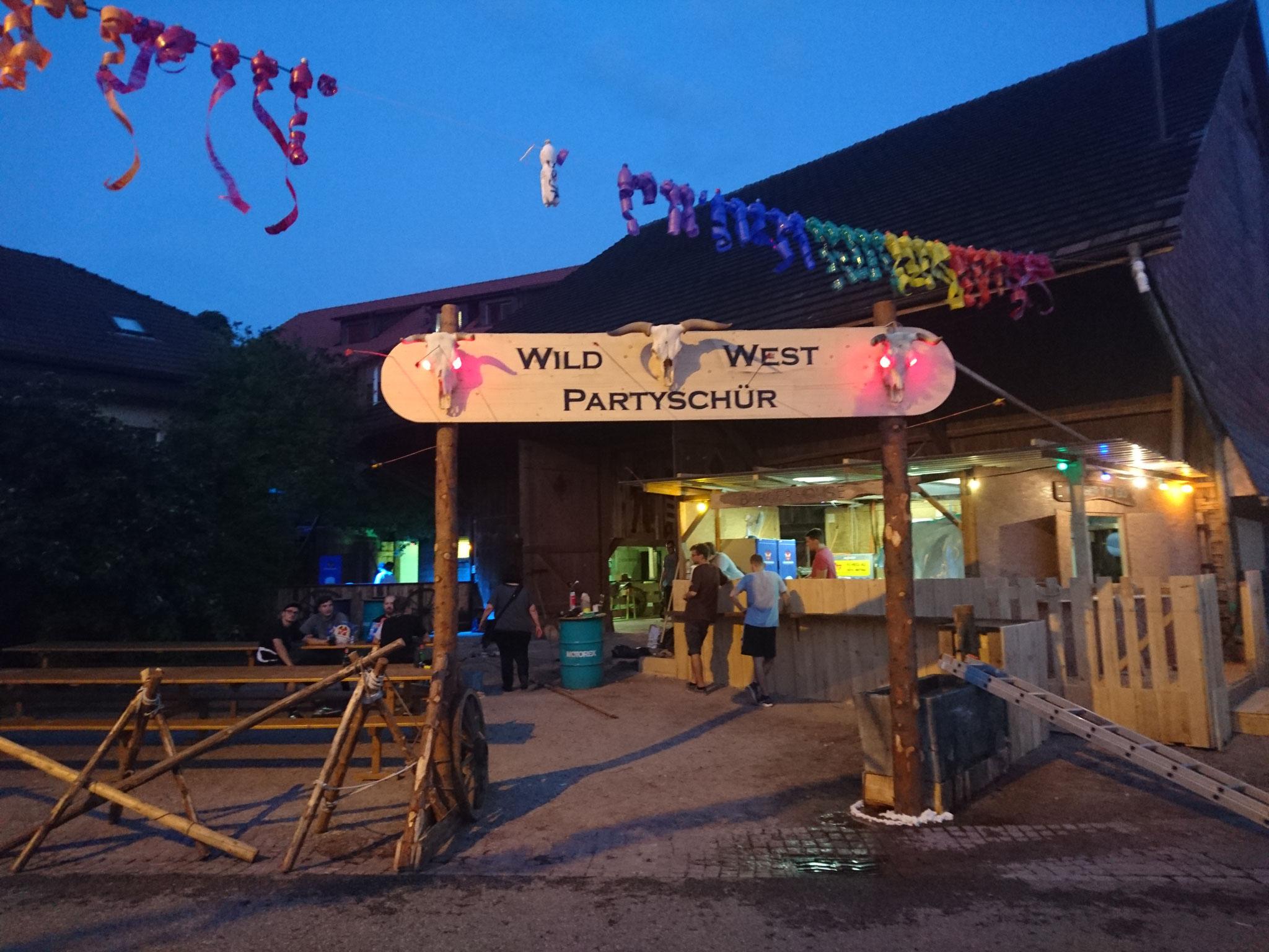 Wild West Partyschür