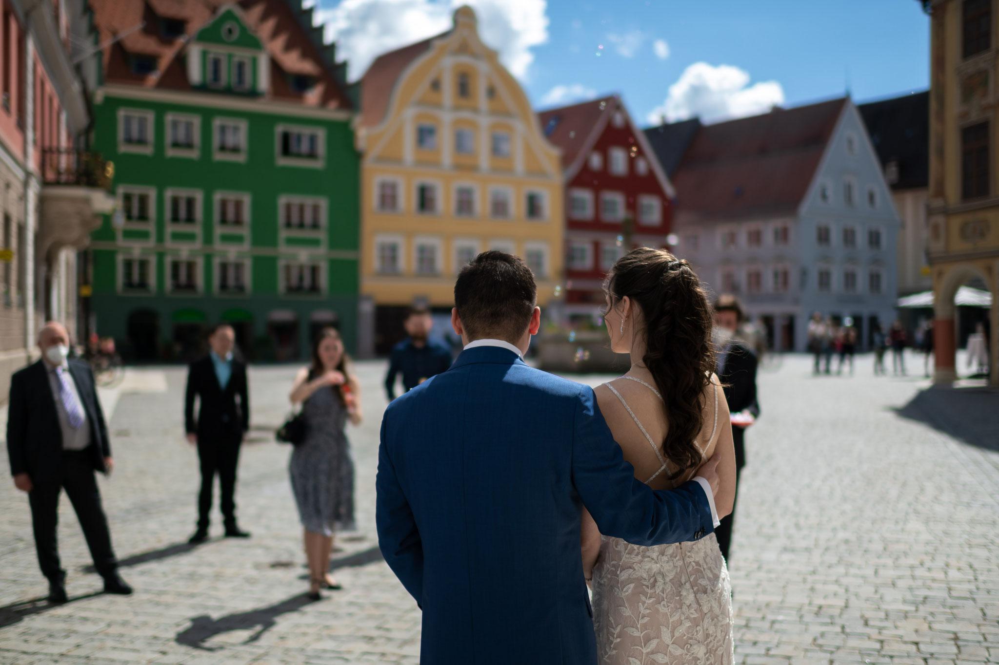 Professioneller Hochzeitsfotograf und Videograf für meine Hochzeit in Memmingen und Bayern