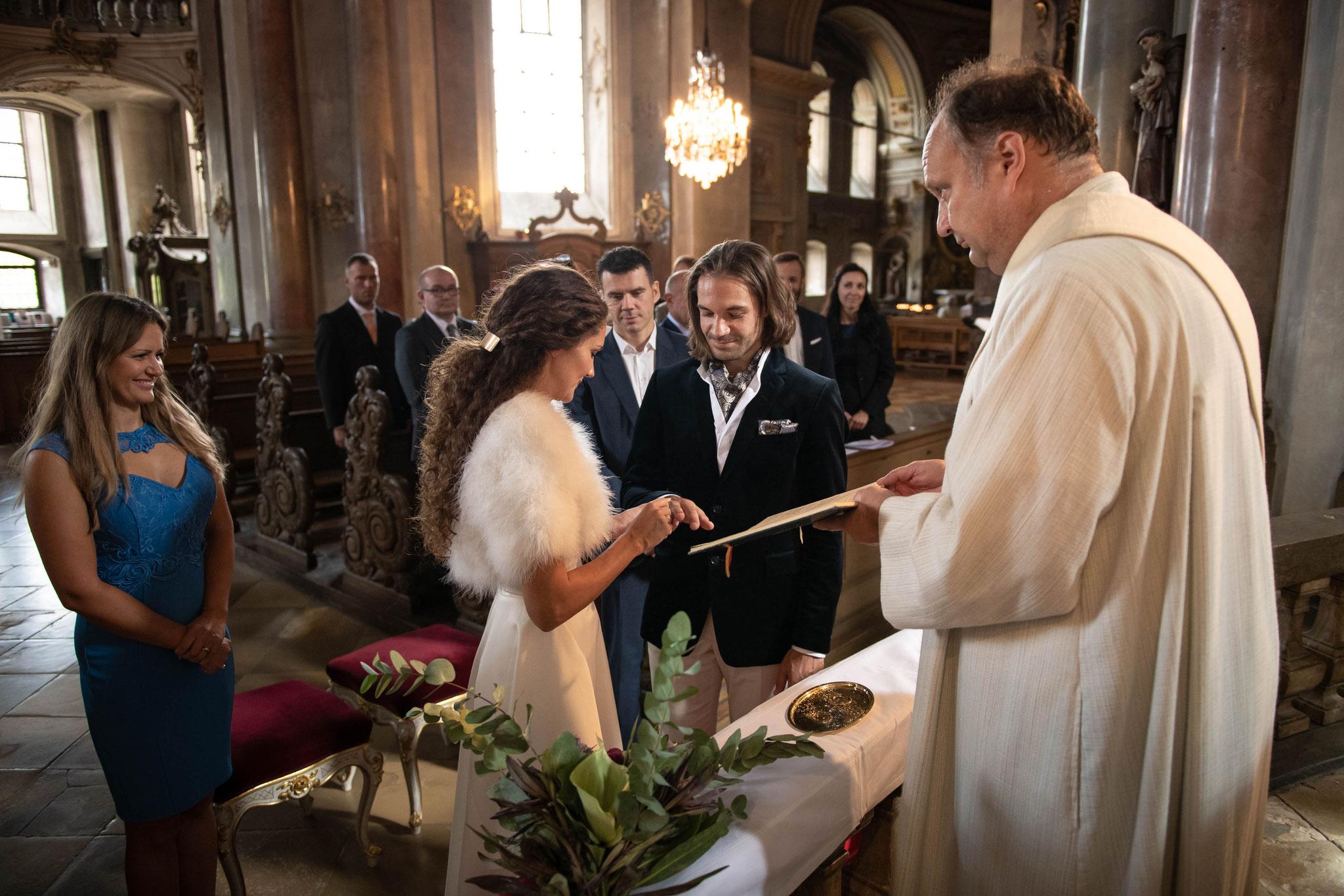 Professionelle Hochzeitsreportage bei deutsch russischen Hochzeiten