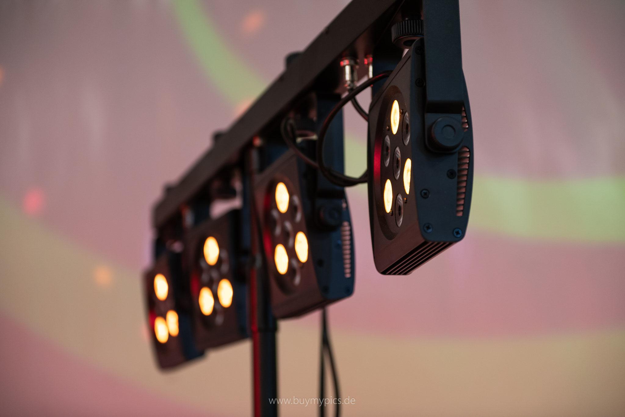 Musik und Lichter