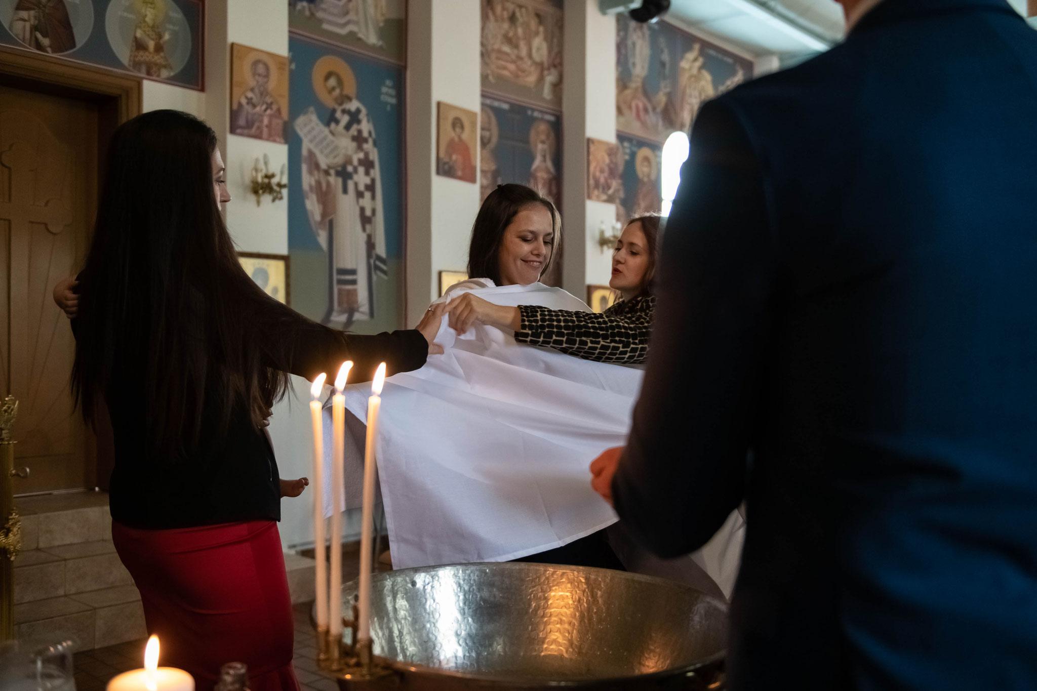 Foto und Video am Tag der Taufe