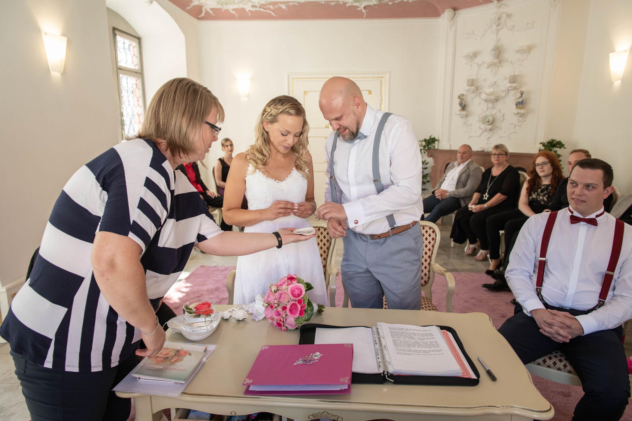 Die Ehe eingehen