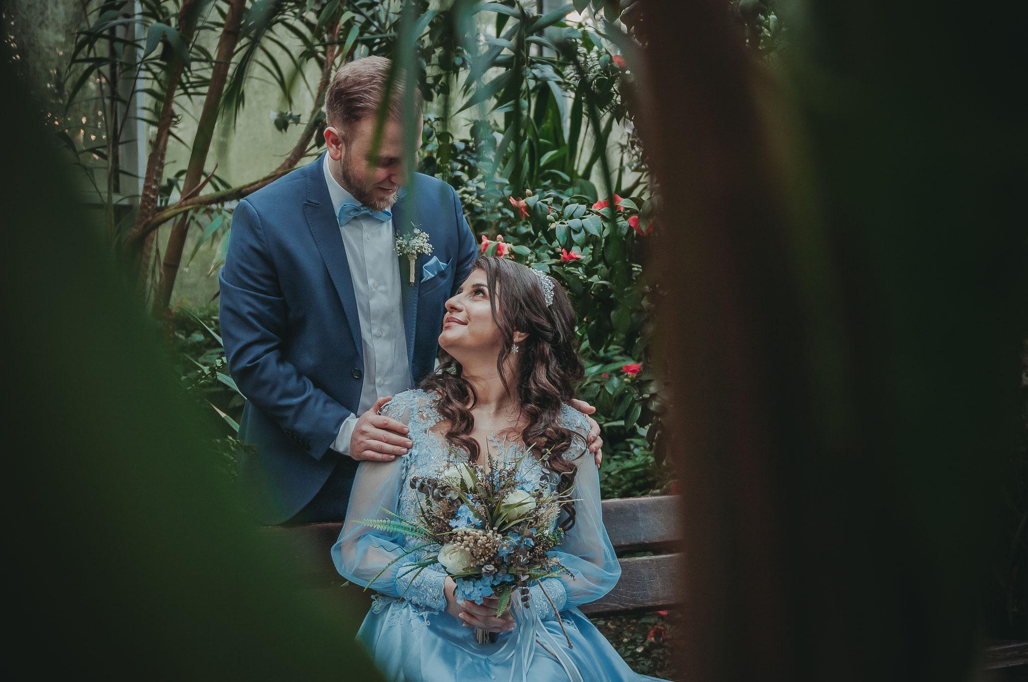 Shooting ganz zu zweit zur Erinnerung an die Verlobung